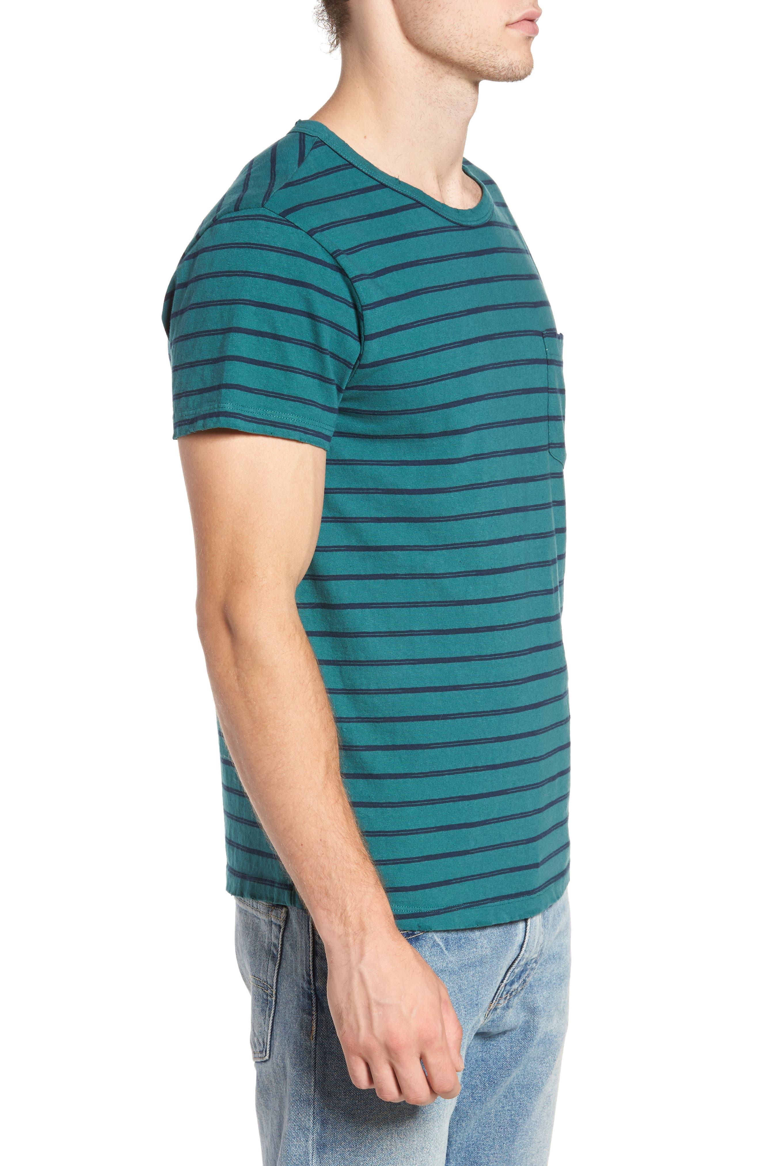 Alternate Image 3  - Sol Angeles Vintage Stripe Pocket T-Shirt