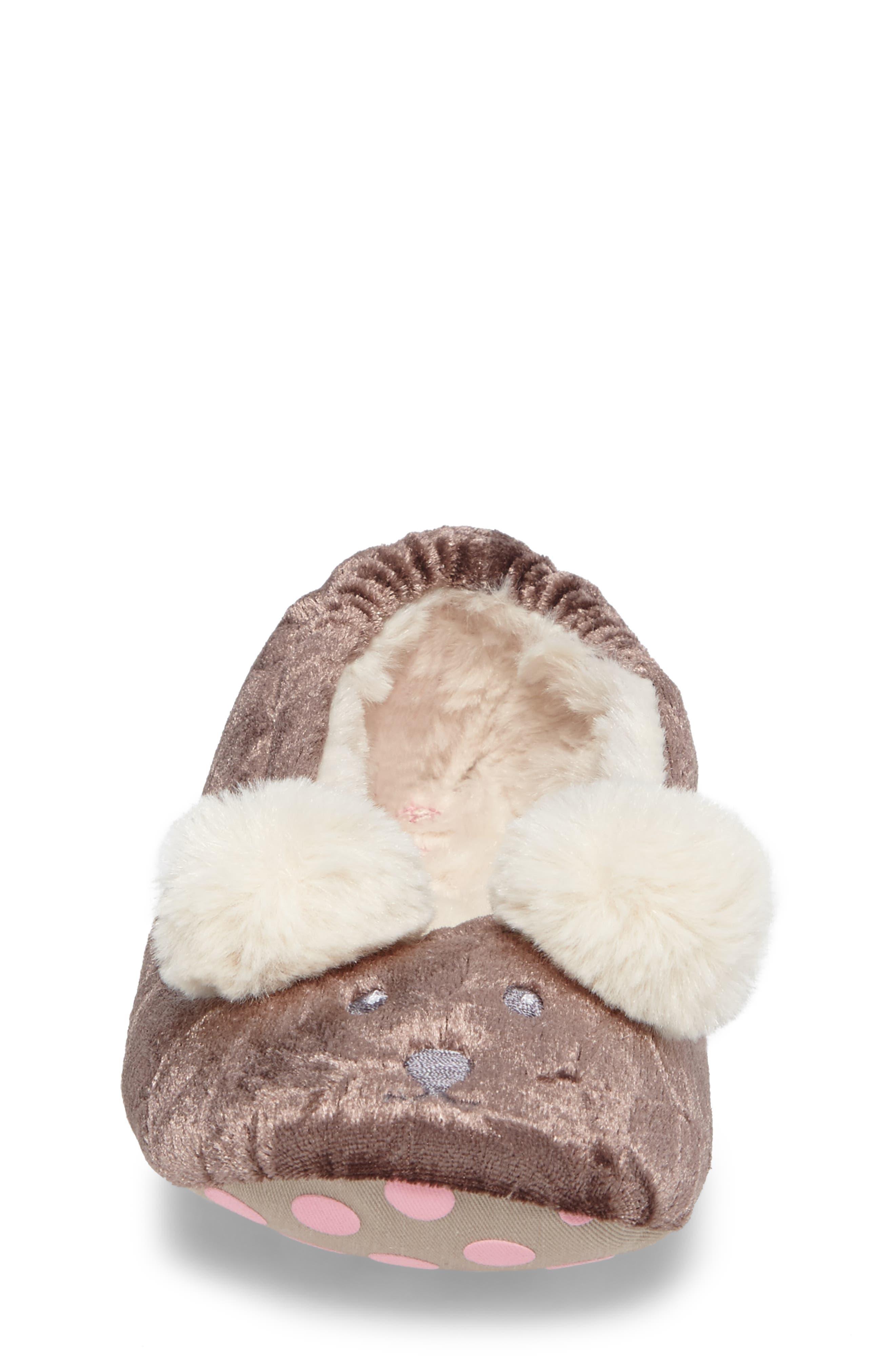 Alternate Image 4  - Mini Boden Bear Slipper (Toddler, Little Kid & Big Kid)