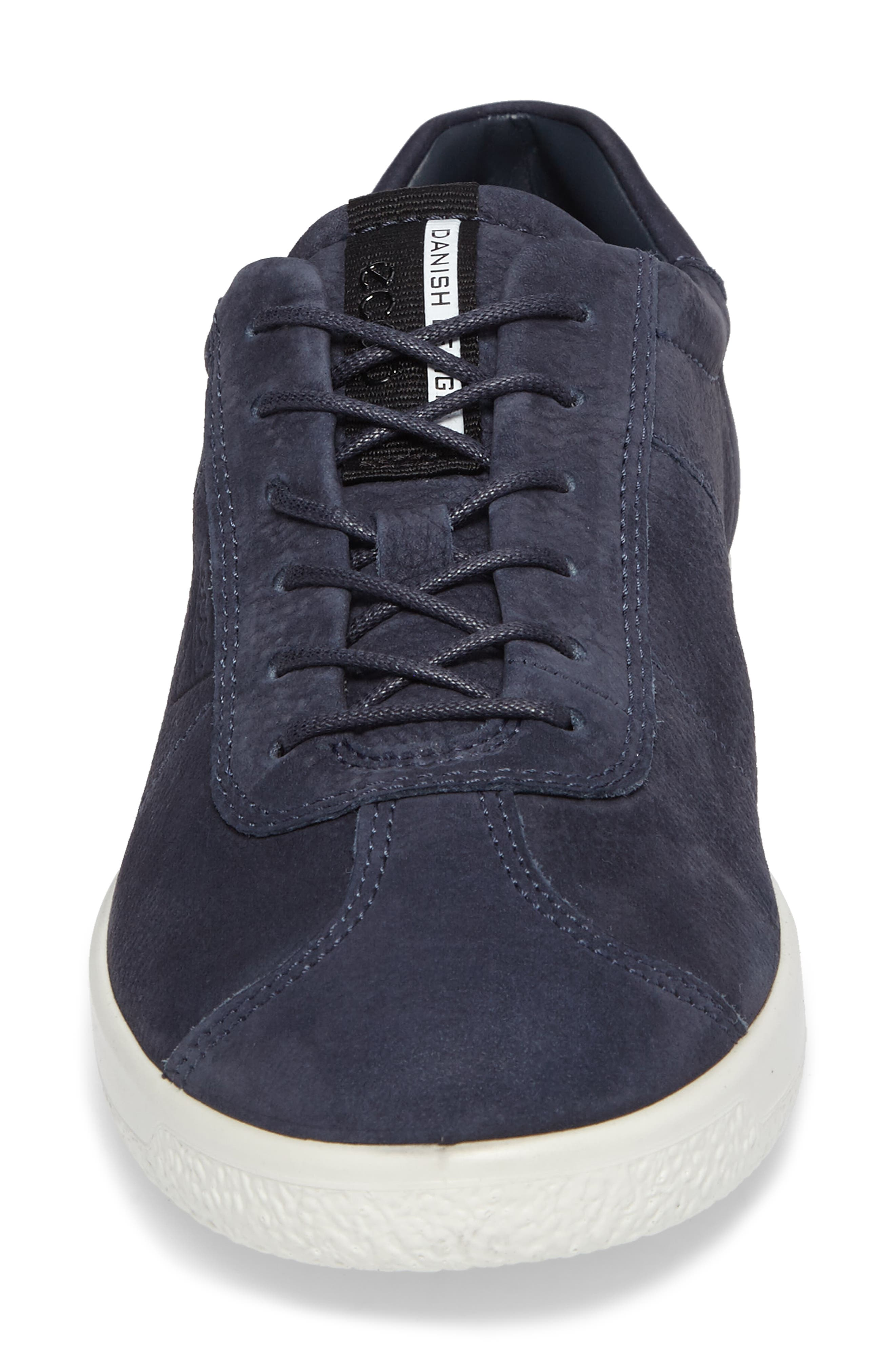 Soft 1 Sneaker,                             Alternate thumbnail 4, color,                             Marine Nubuck