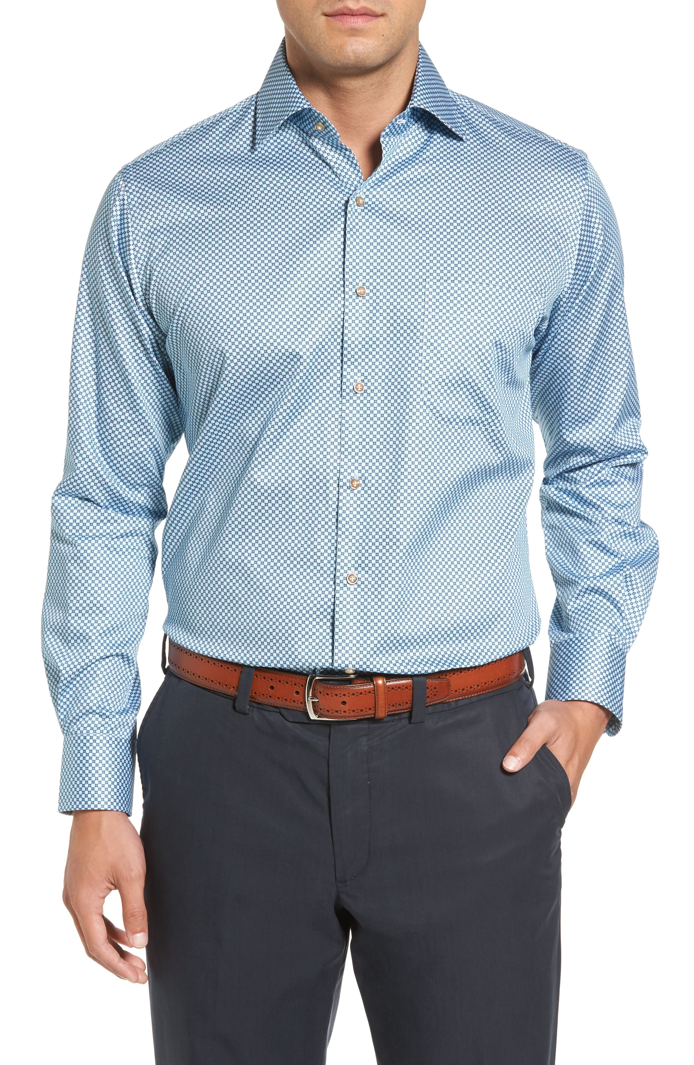 Alternate Image 1 Selected - Peter Millar Pandora's Box Regular Fit Sport Shirt