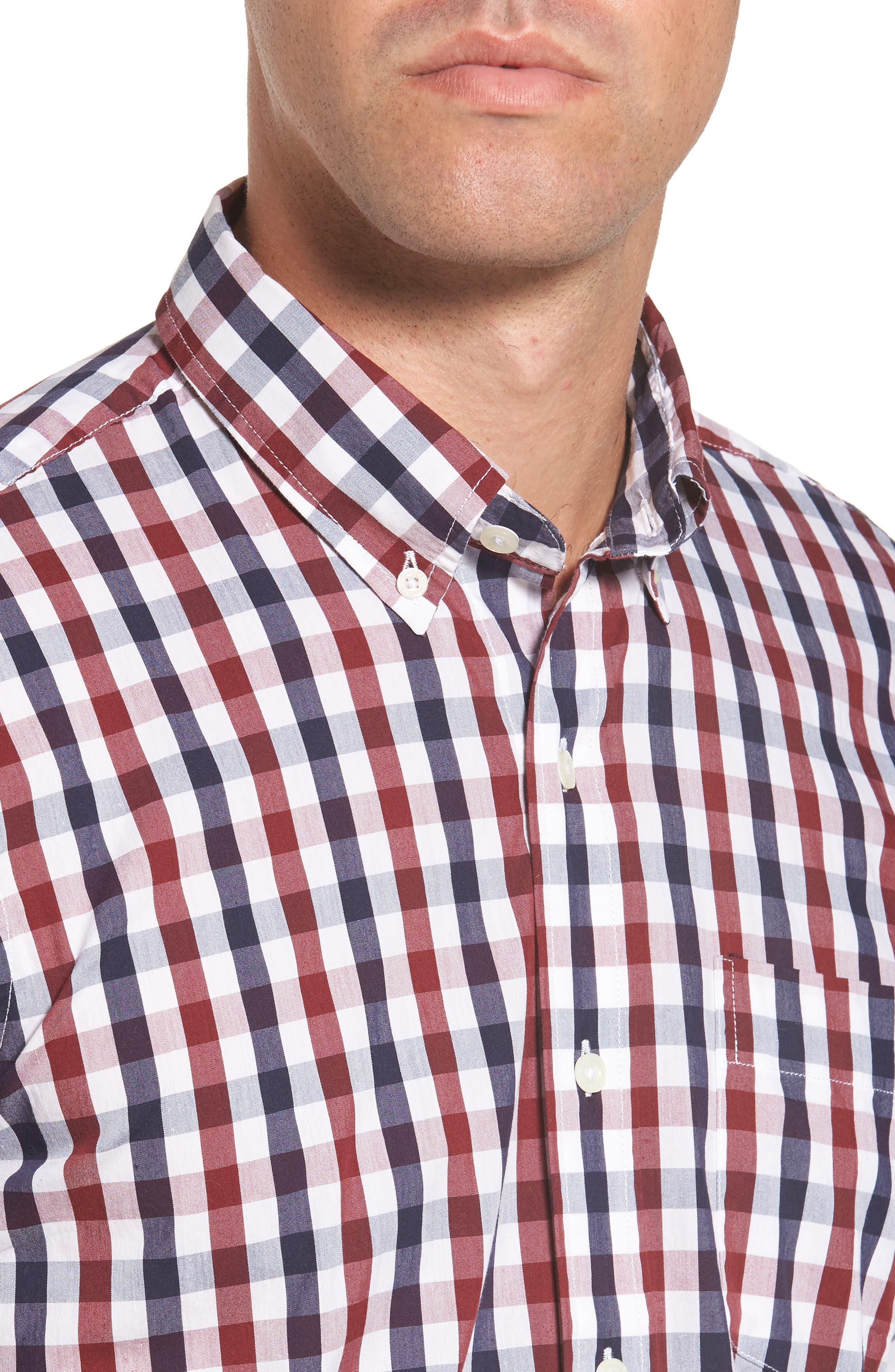 Alternate Image 4  - Tailor Vintage Regular Fit Performance Sport Shirt