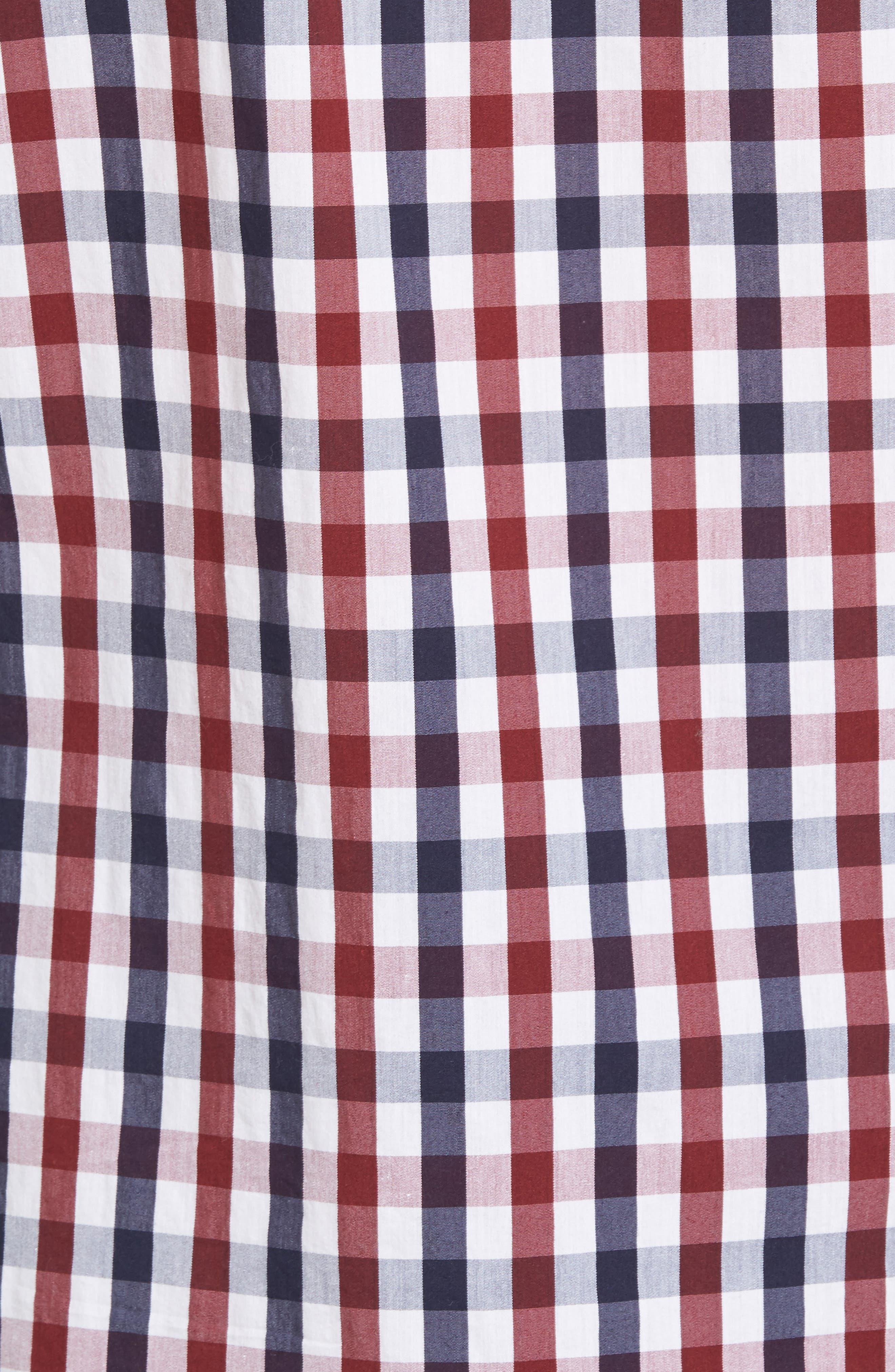 Alternate Image 5  - Tailor Vintage Regular Fit Performance Sport Shirt