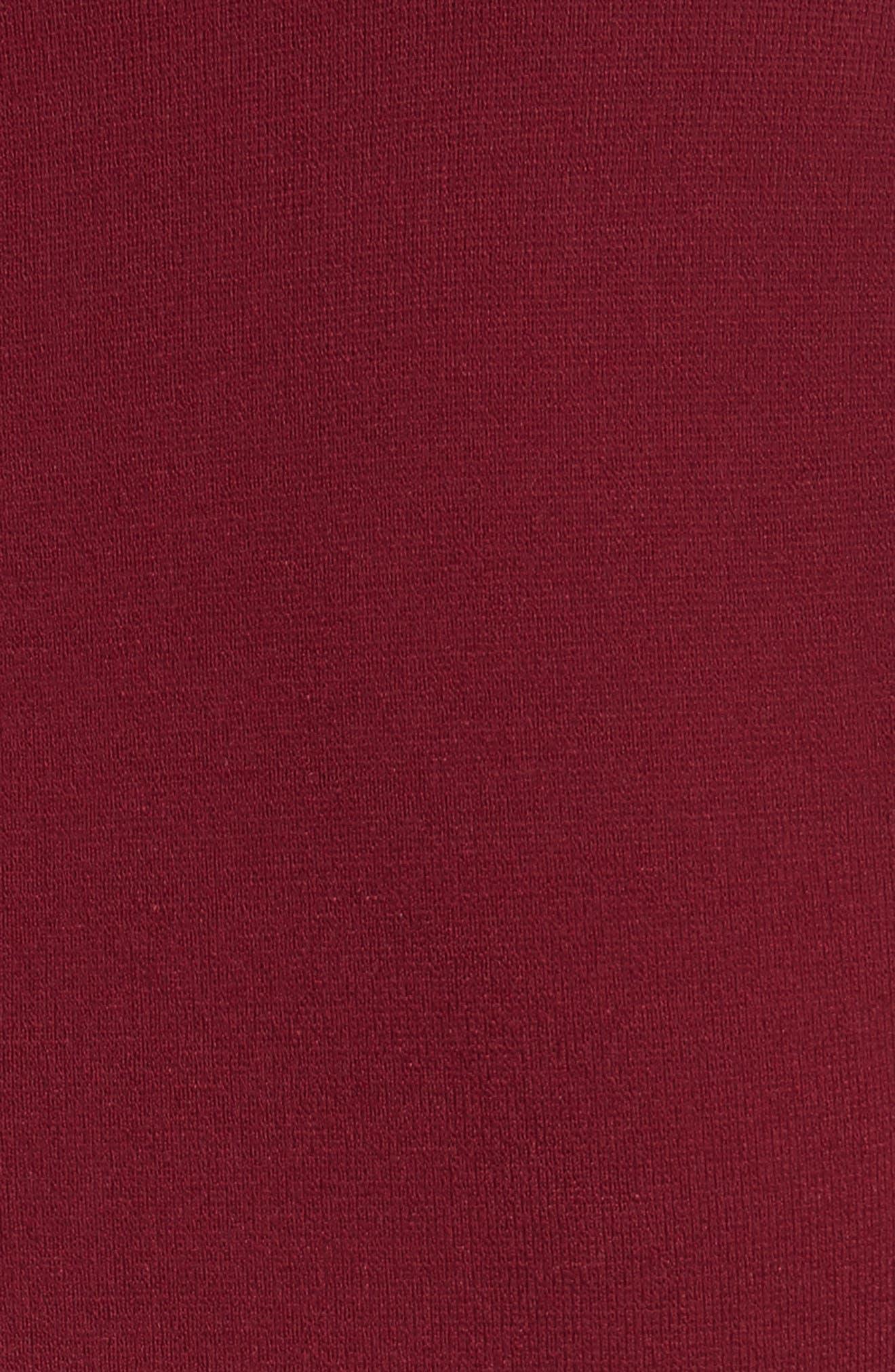 Alternate Image 5  - Lela Rose Knit Bell Sleeve Dress