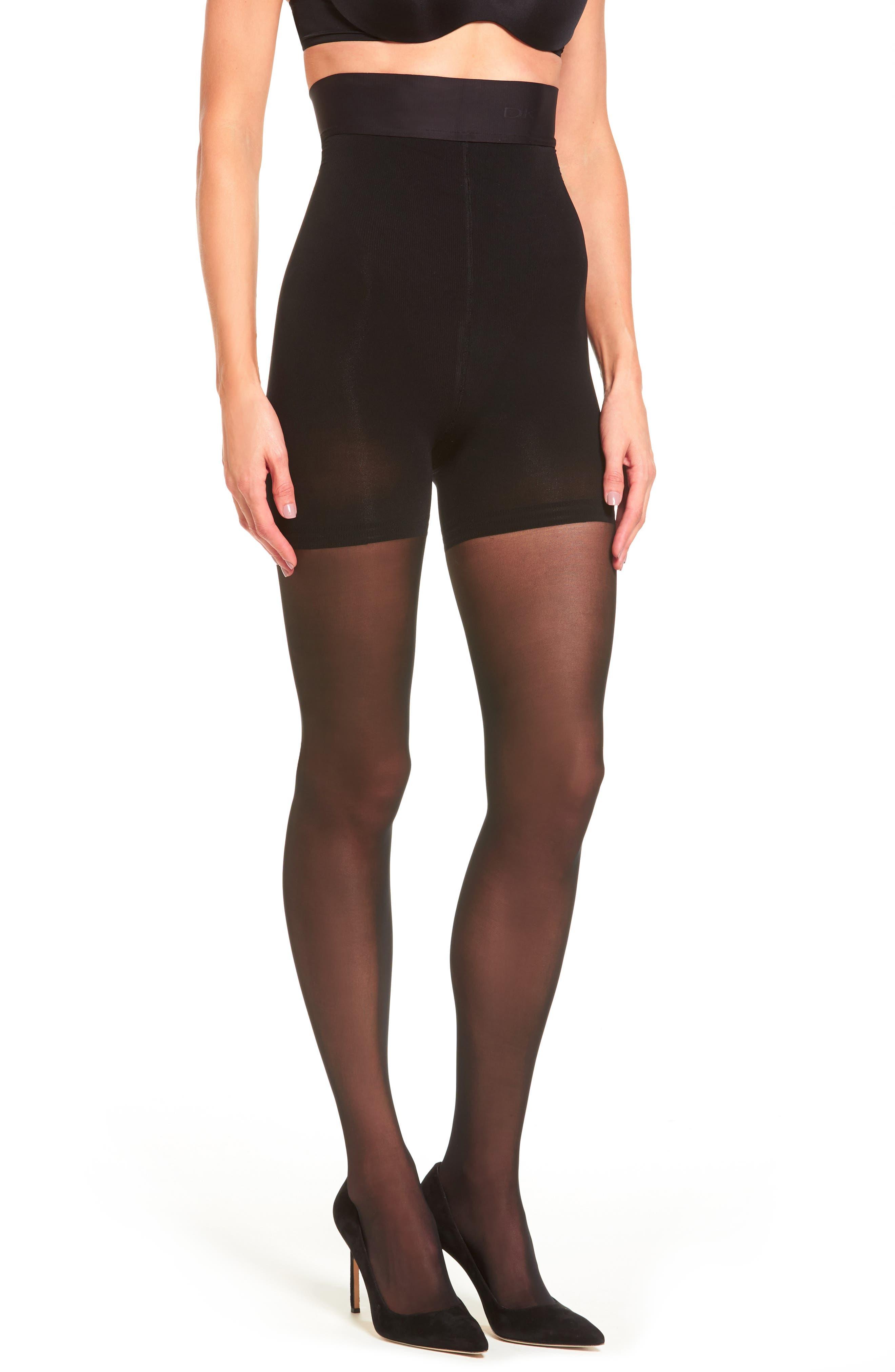 Main Image - Donna Karan High Waist Control Top Pantyhose