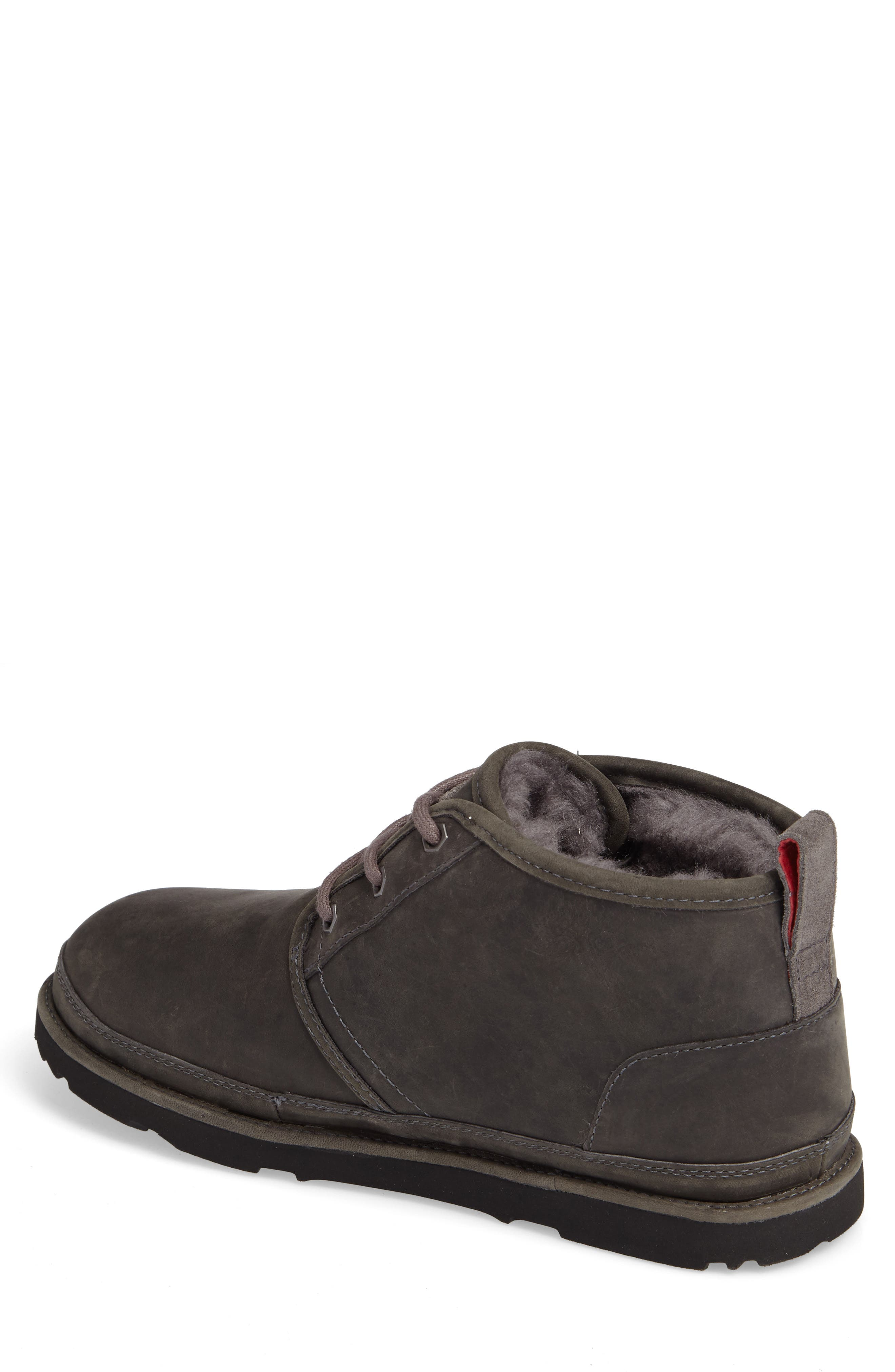 Neumel Waterproof Chukka Boot,                             Alternate thumbnail 2, color,                             Charcoal
