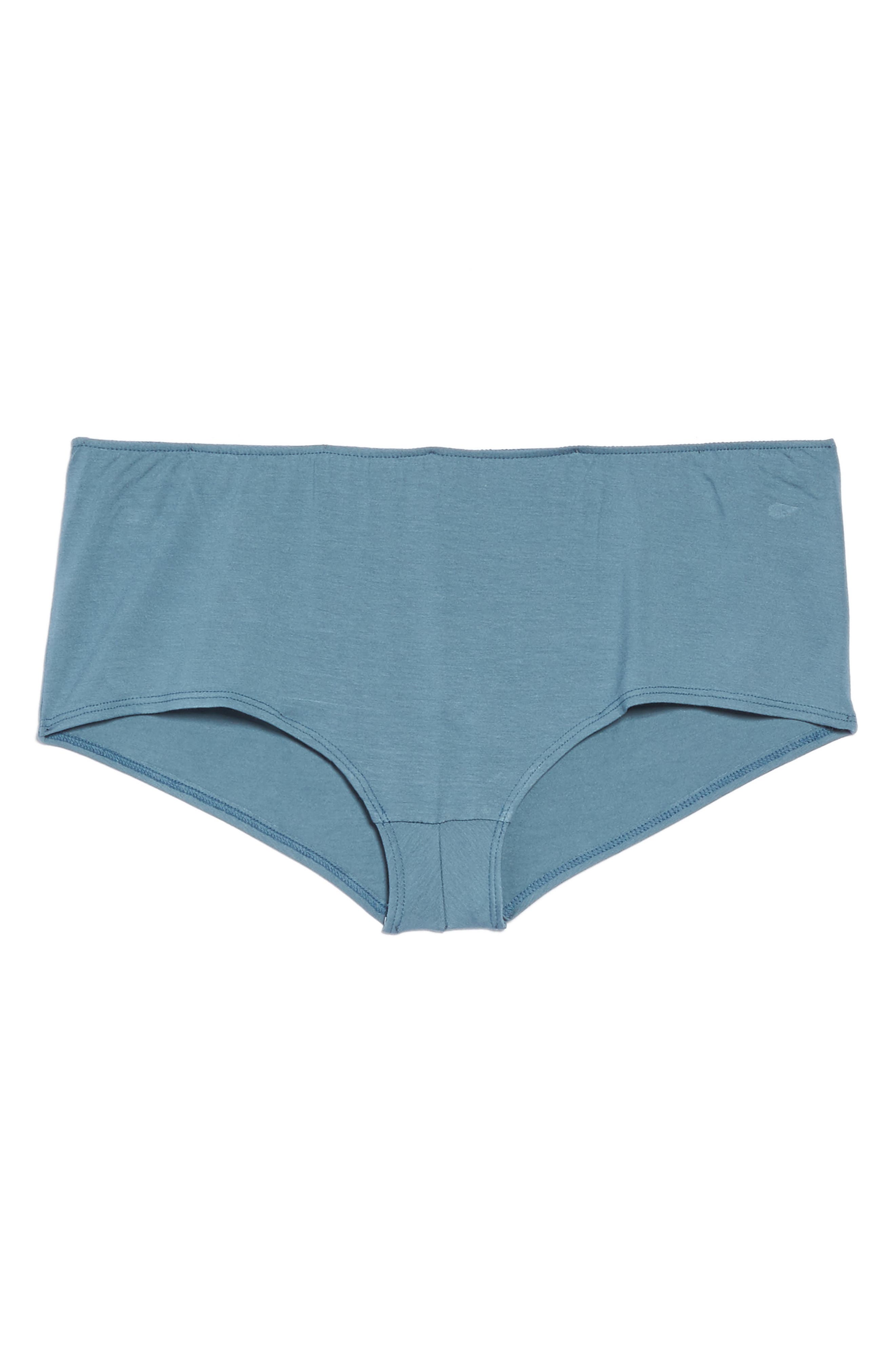 So Fine Ruched Hipster Briefs,                             Alternate thumbnail 4, color,                             Petrol