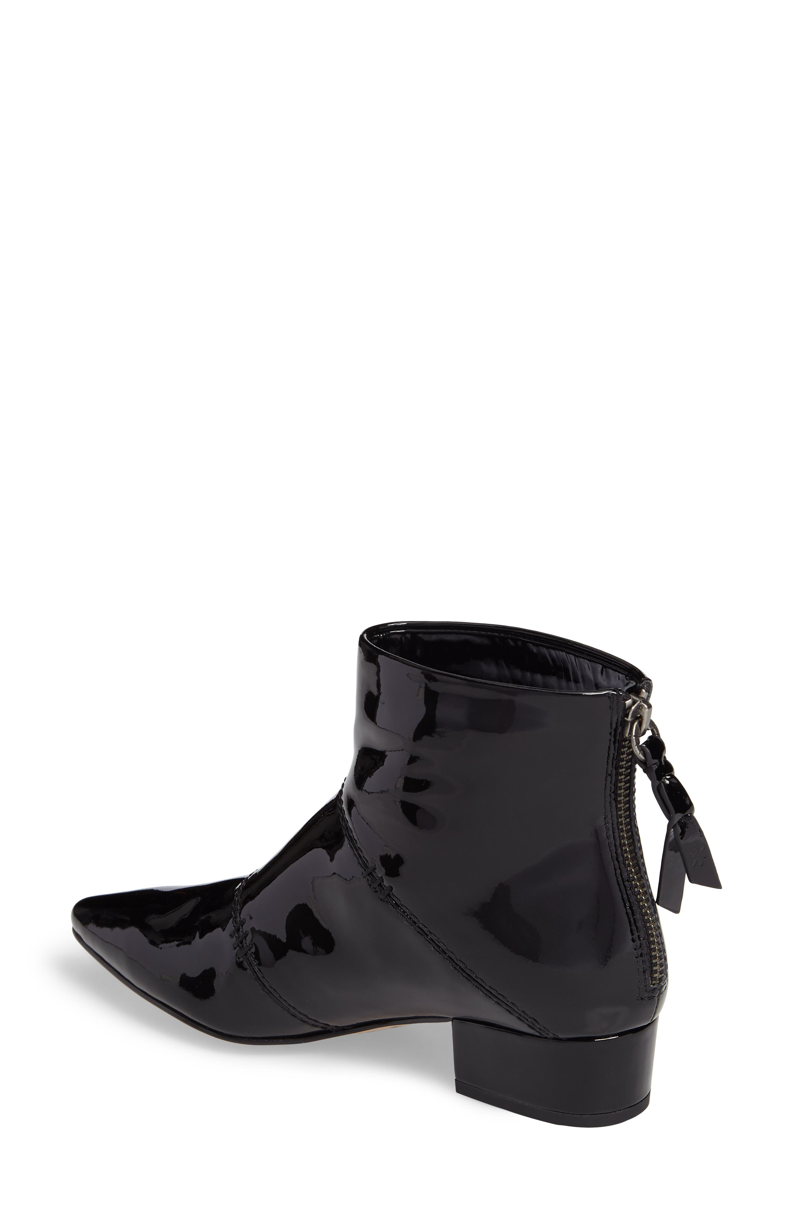 Rina Bootie,                             Alternate thumbnail 2, color,                             Black Patent