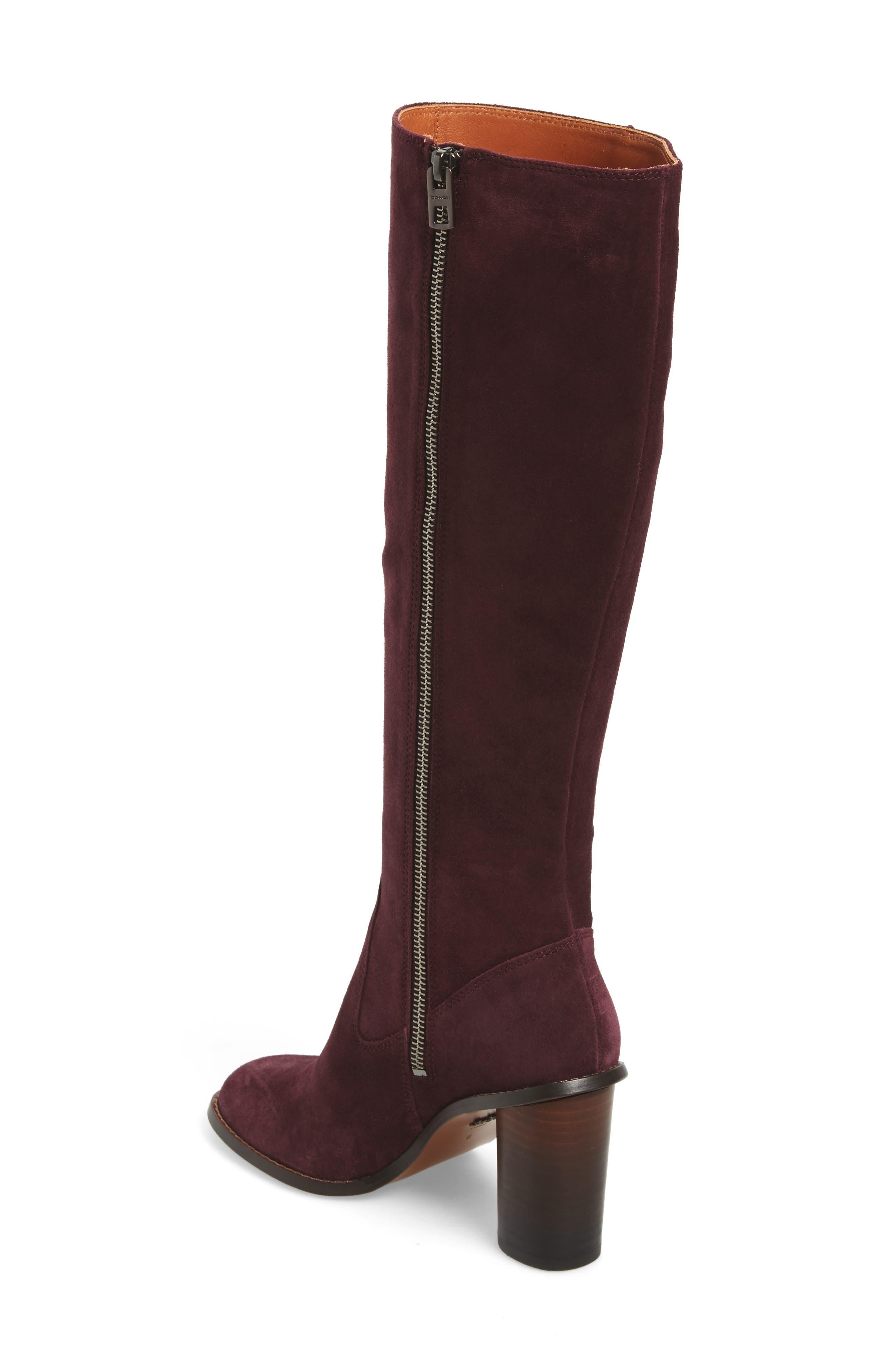 Alternate Image 2  - COACH Ombré Knee High Boot (Women)