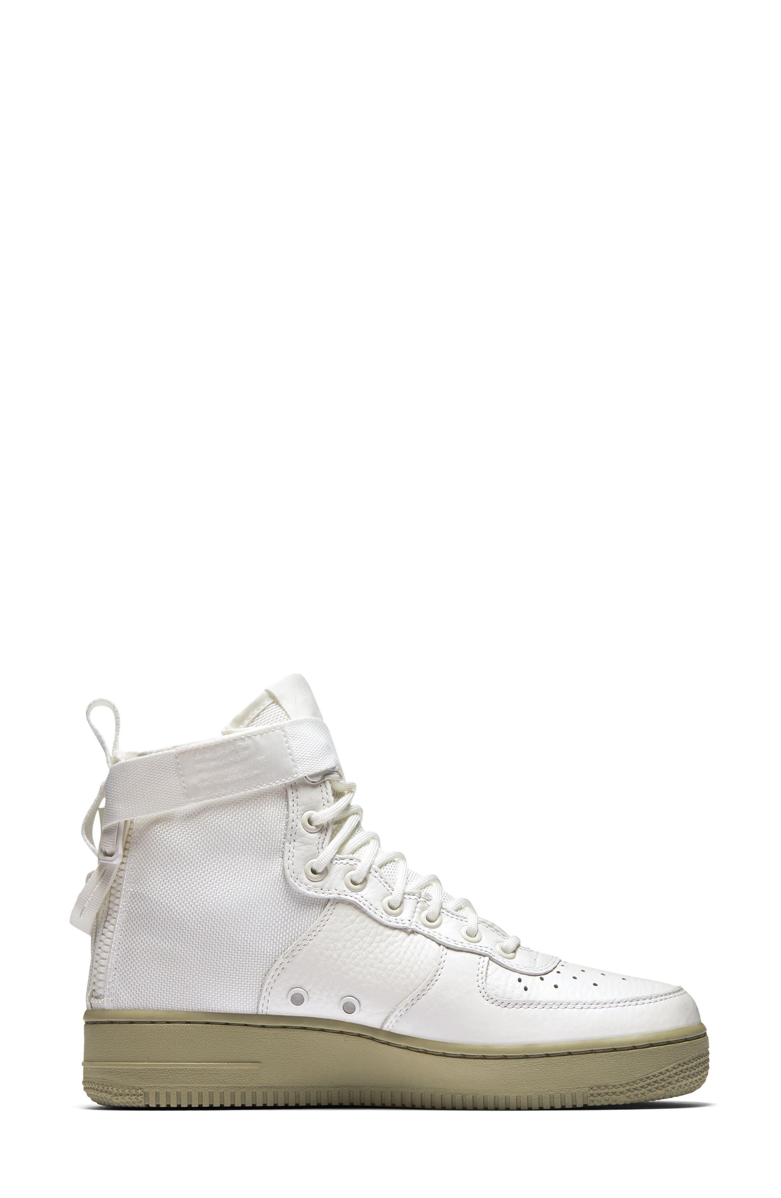 Alternate Image 2  - Nike SF Air Force 1 Mid Sneaker (Women)