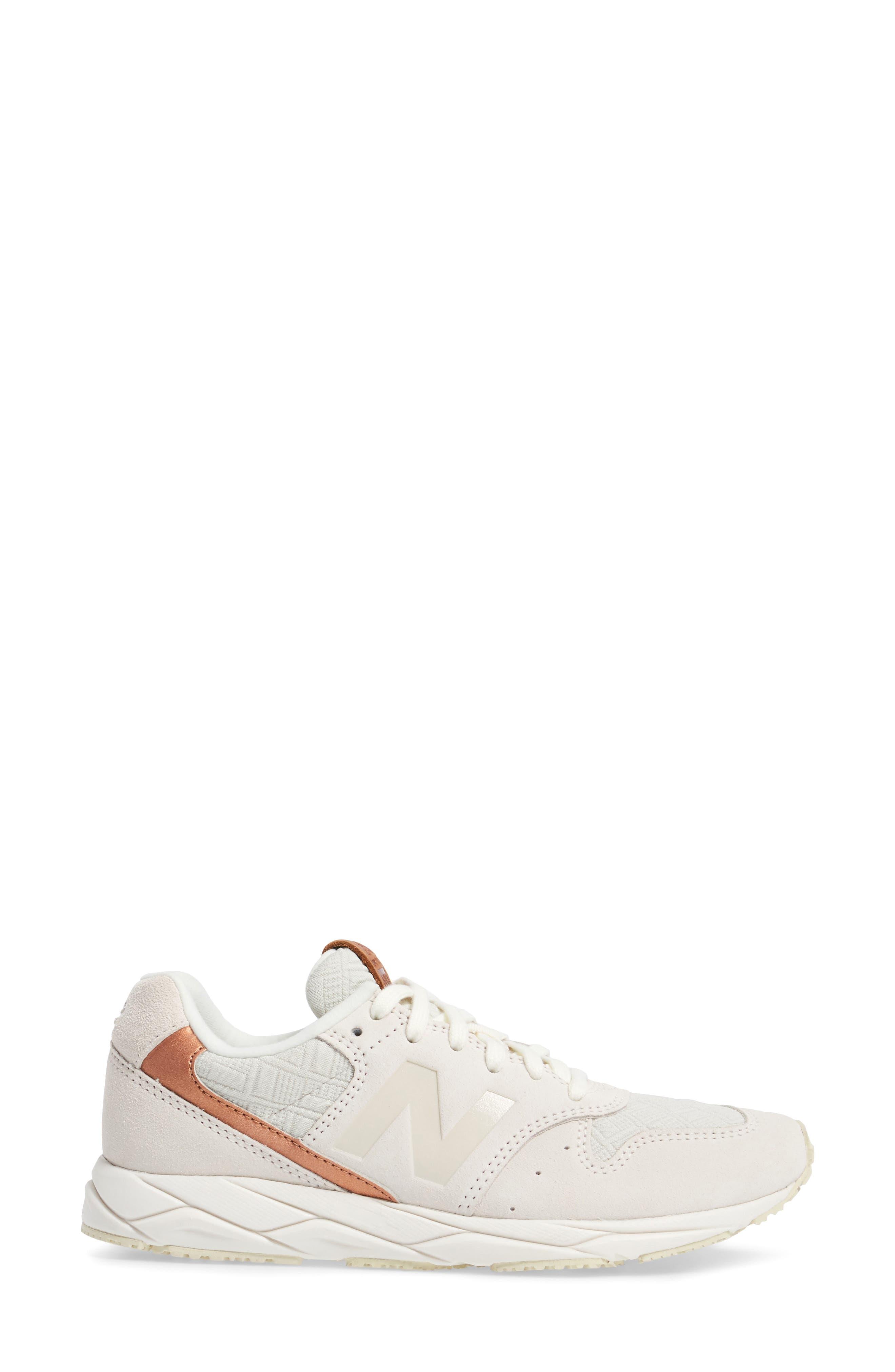 96 Mash-Up Sneaker,                             Alternate thumbnail 3, color,                             Sea Salt