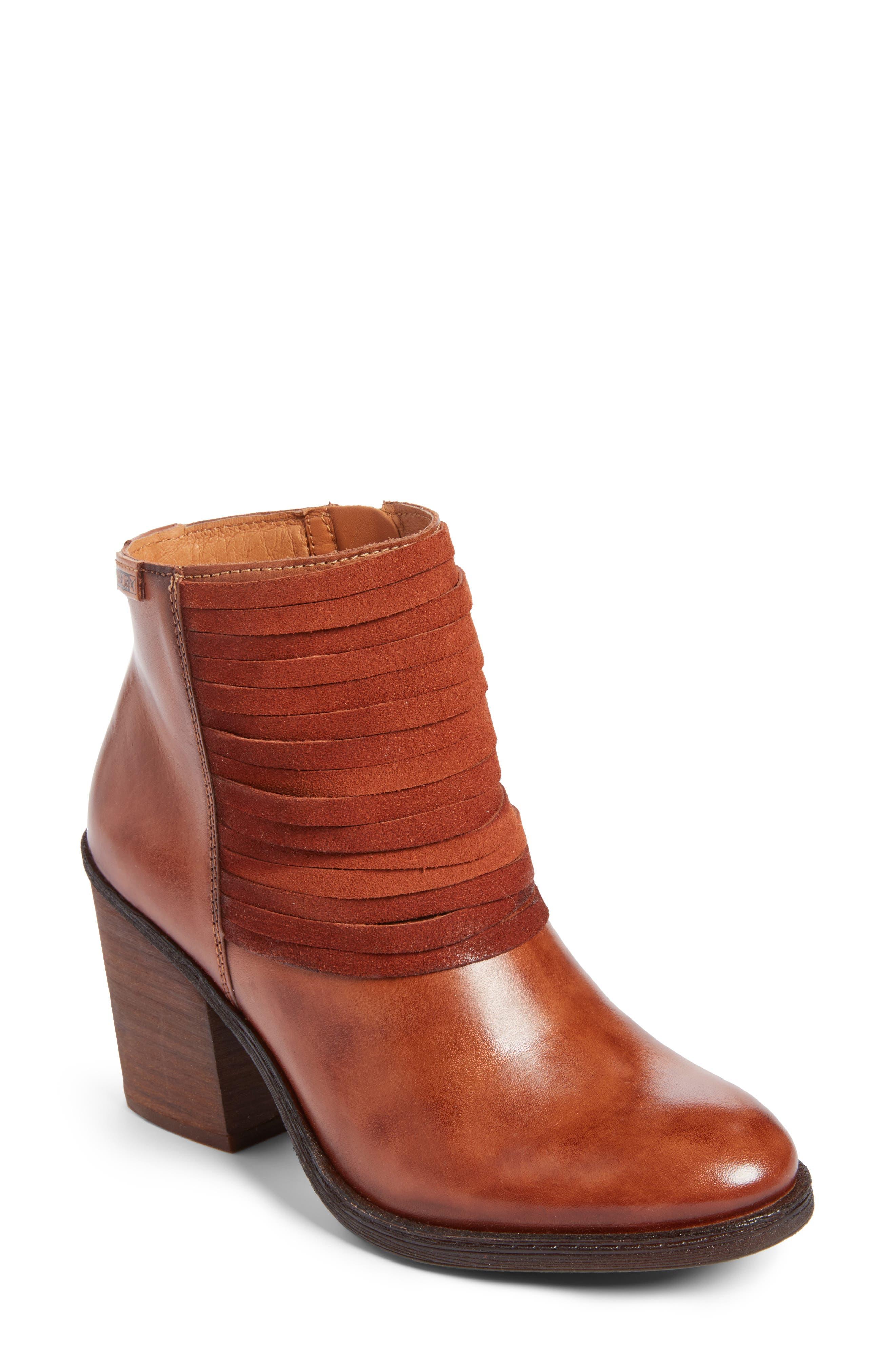 Alicante Bootie,                             Main thumbnail 1, color,                             Cuero Leather