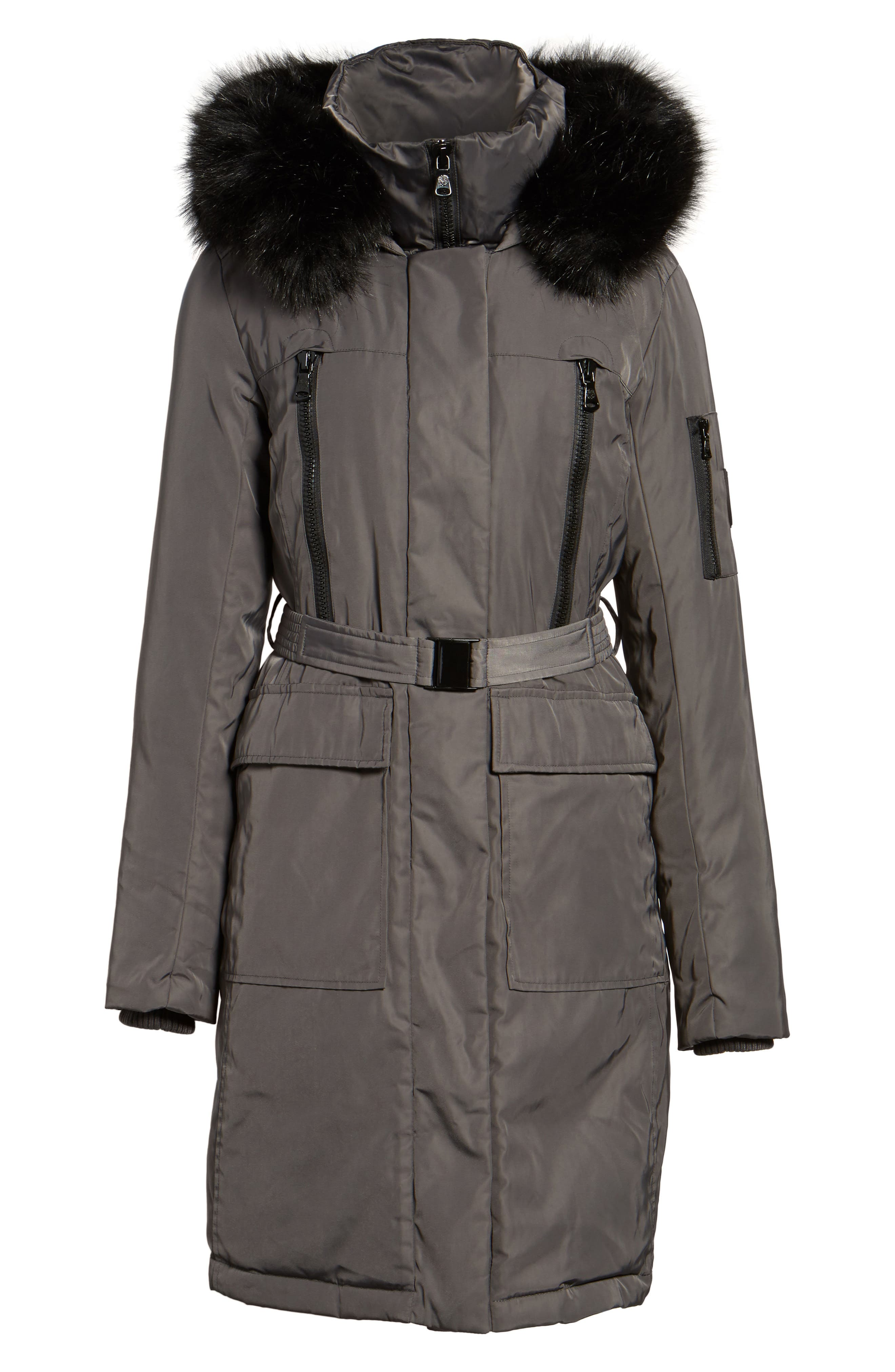 Alternate Image 6  - Vince Camuto Insulated Puffer Jacket
