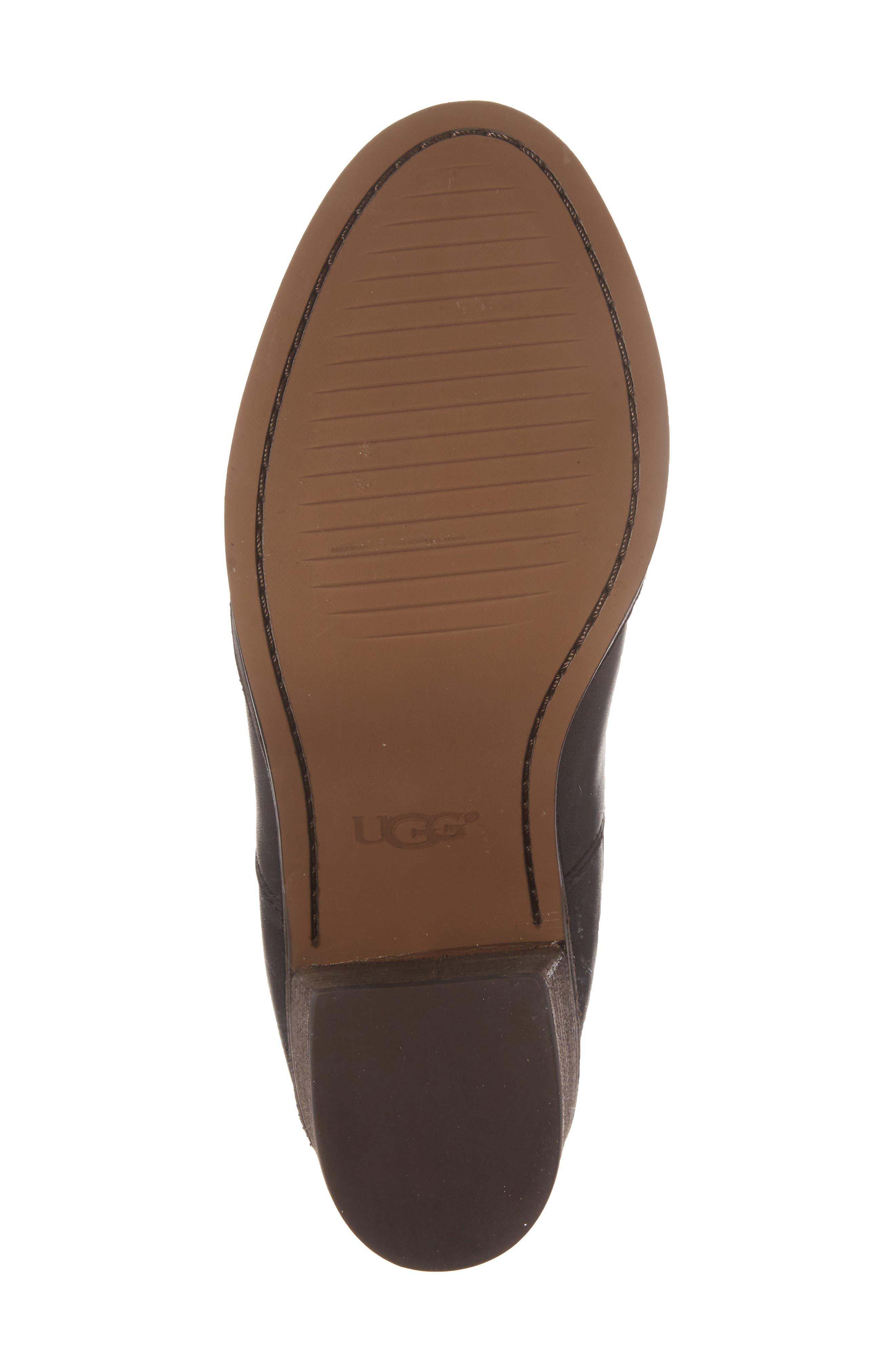 Camden Chelsea Boot,                             Alternate thumbnail 6, color,                             Black Leather