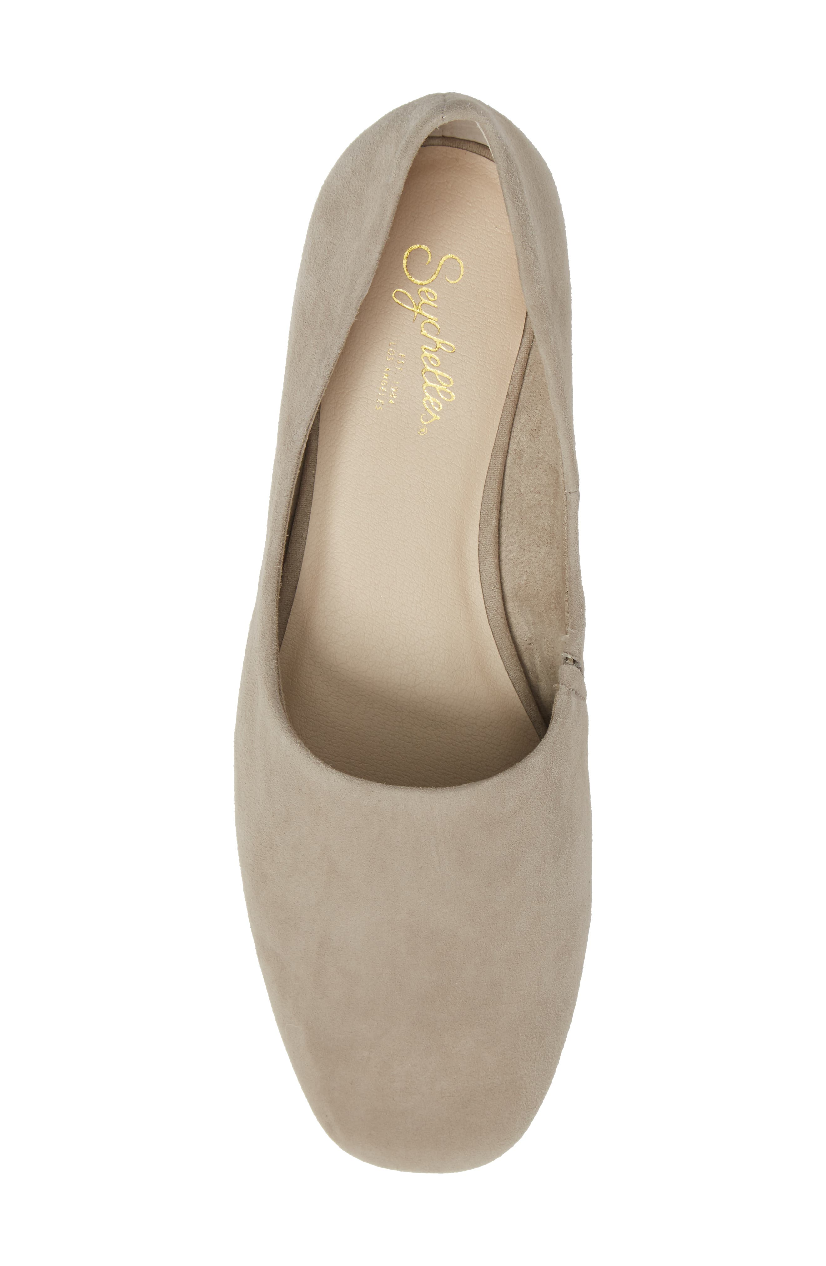 Role Flat,                             Alternate thumbnail 5, color,                             Taupe Suede