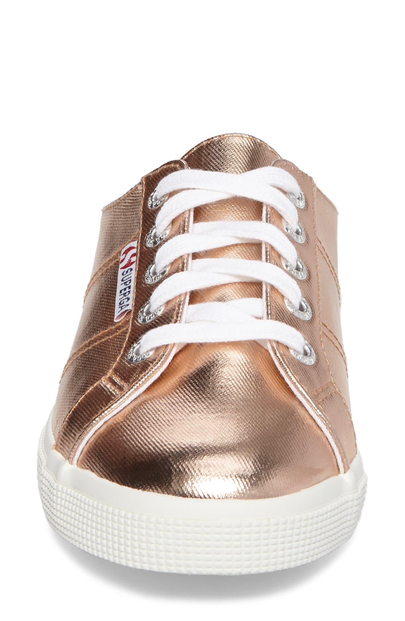 2288 Sneaker Mule,                             Alternate thumbnail 4, color,                             Rose Gold