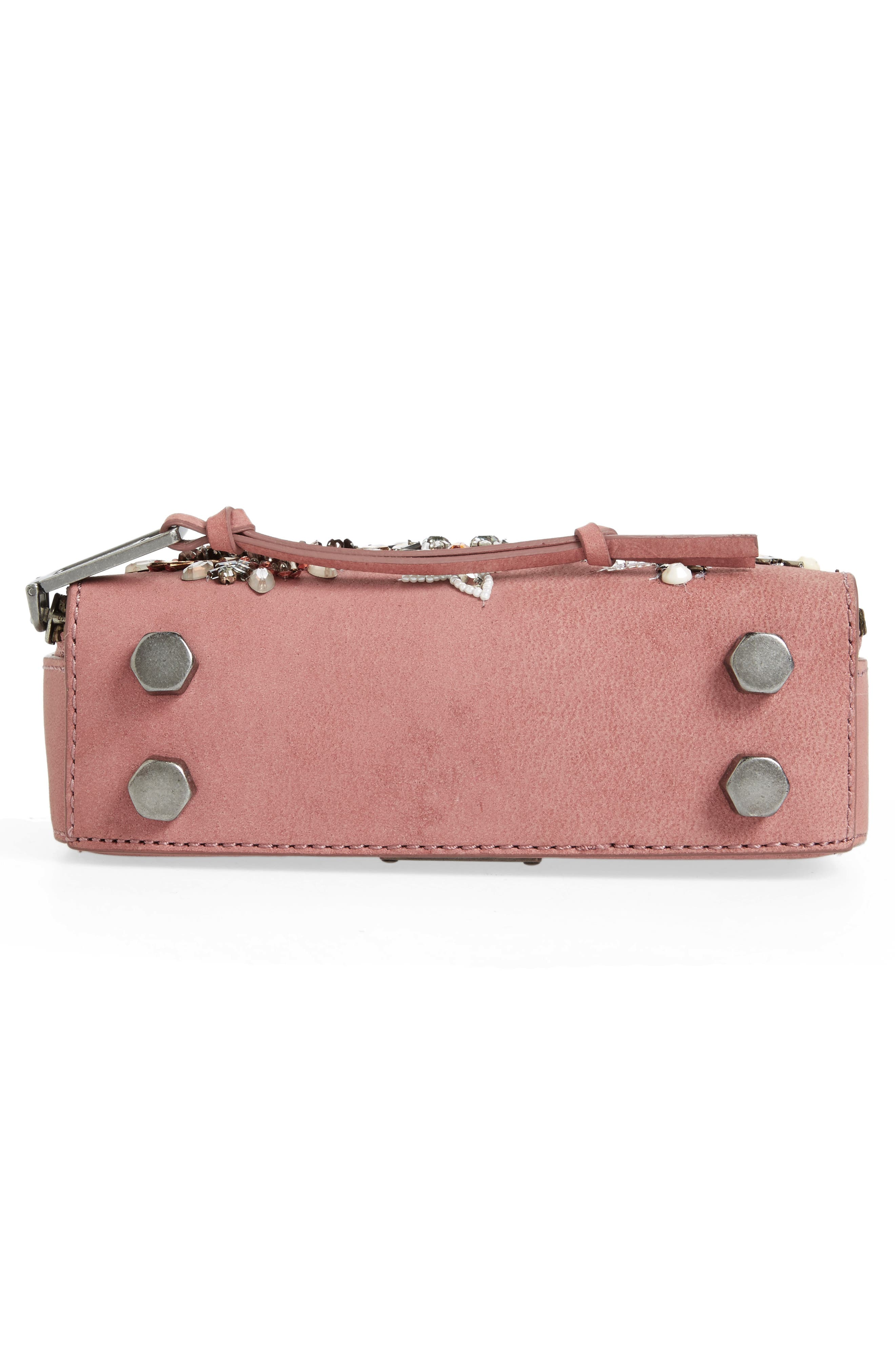 Alternate Image 6  - Rebecca Minkoff Embellished Box Leather Crossbody Bag