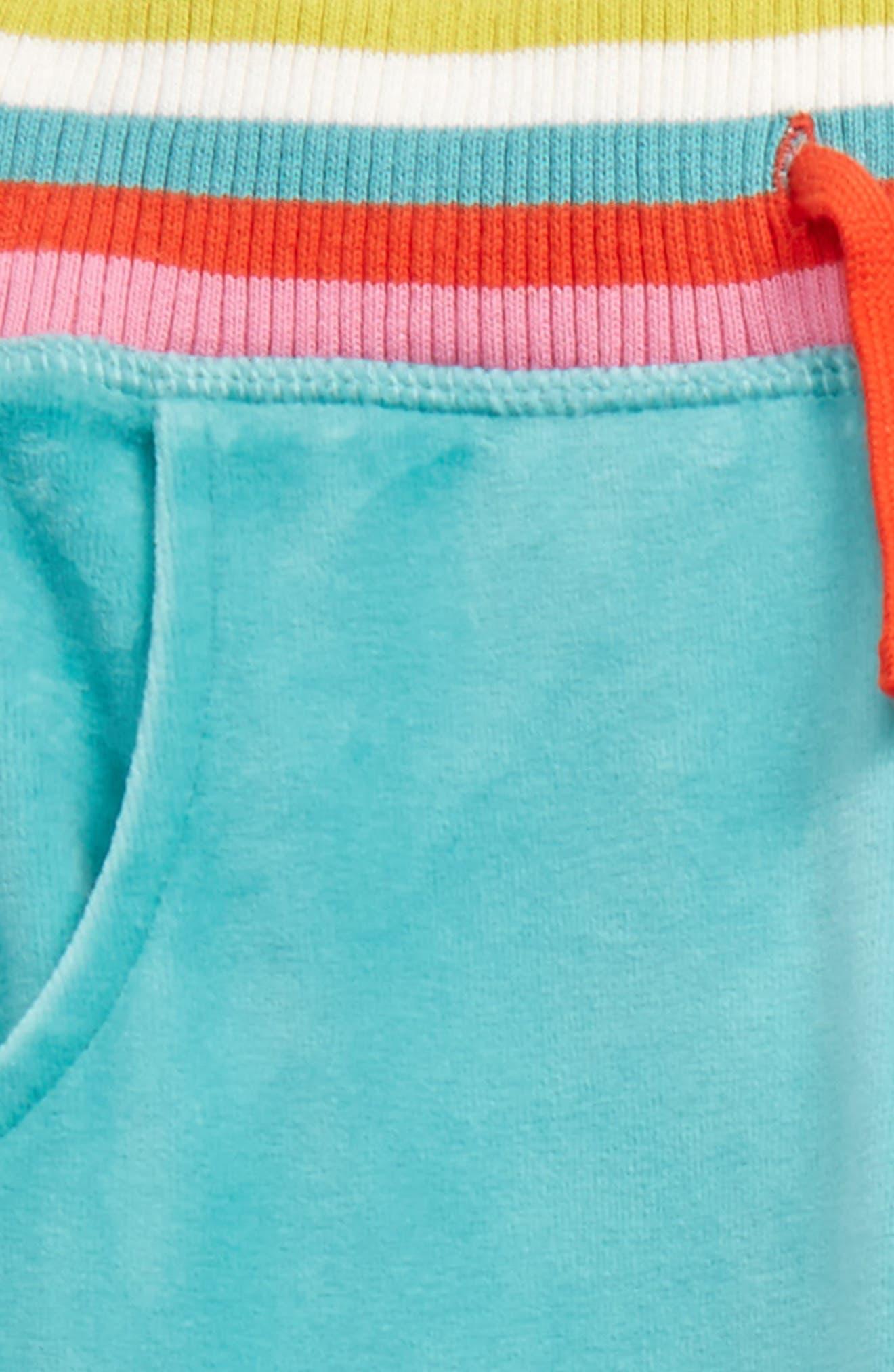 Alternate Image 2  - Mini Boden Velour Sweatpants (Toddler Girls, Little Girls & Big Girls)
