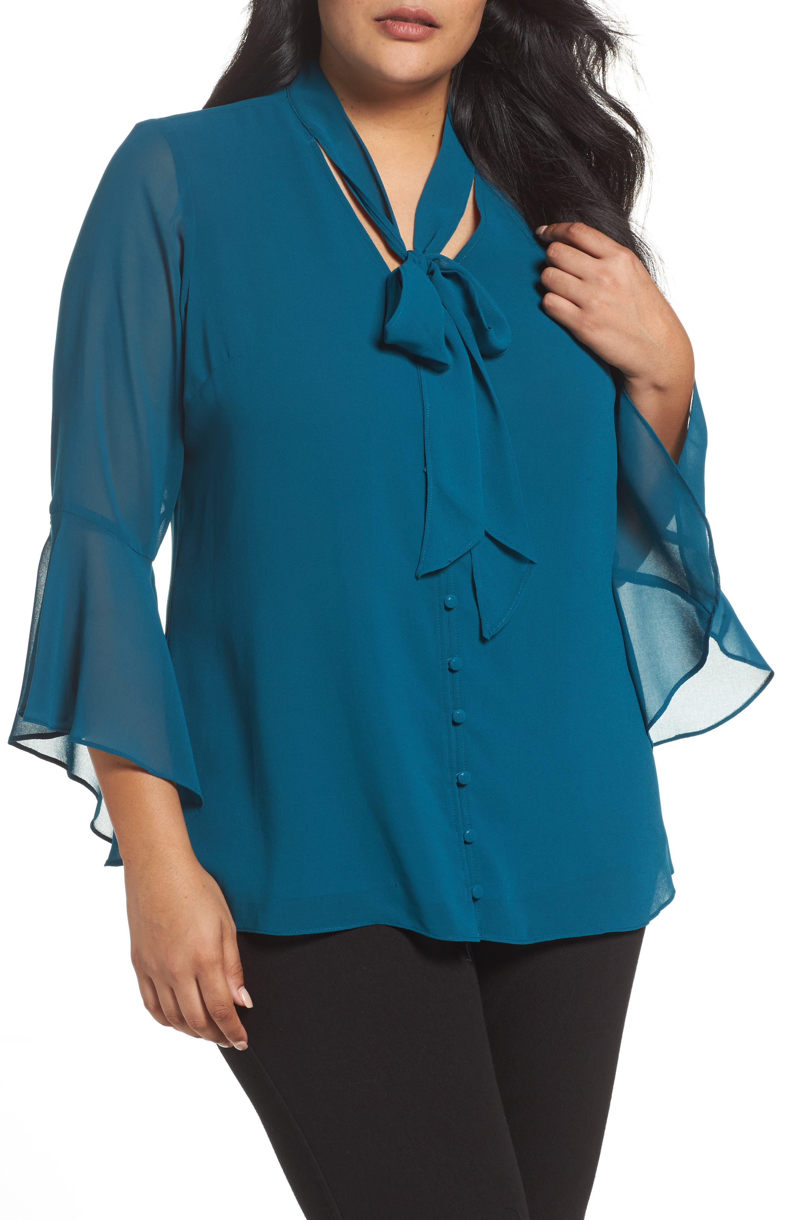 Alternate Image 1 Selected - City Chic Sweet Dreams Top (Plus Size)
