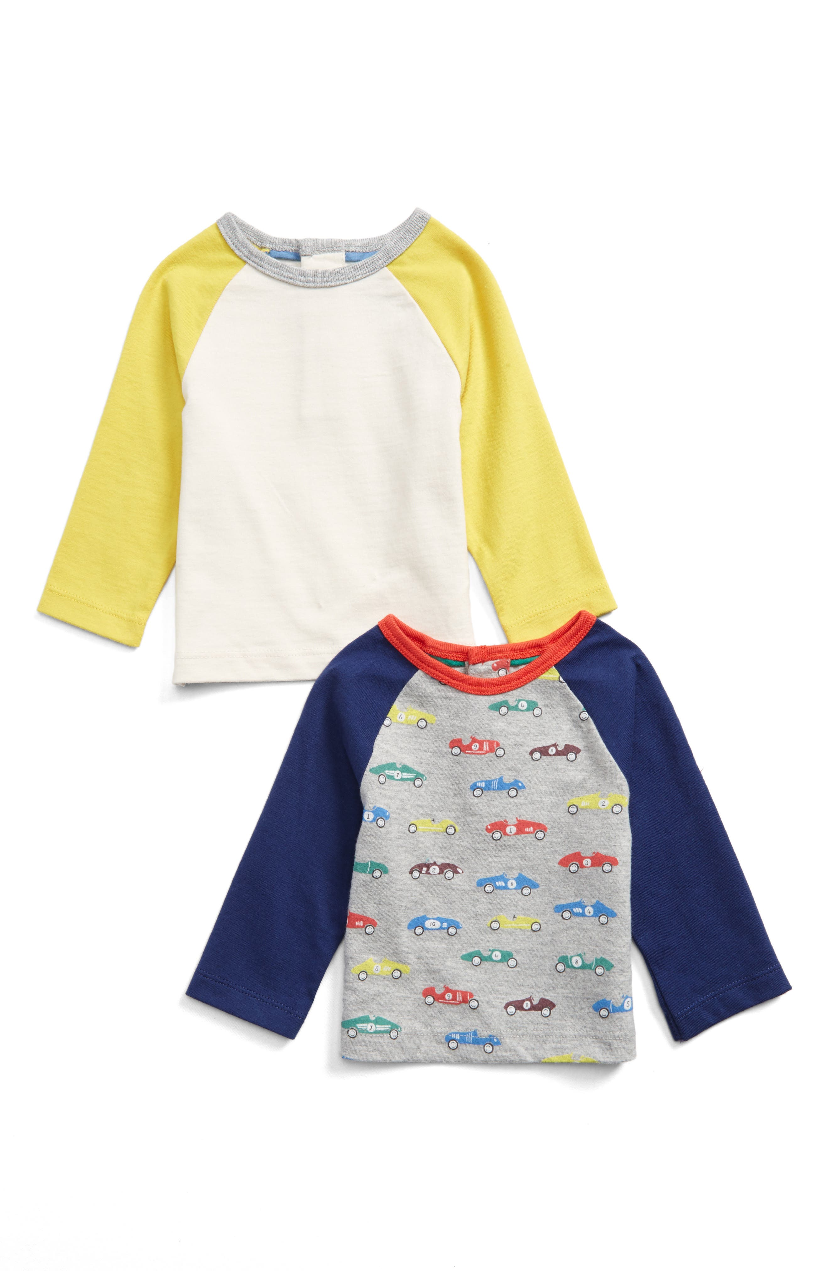 Mini Boden 2-Pack T-Shirts (Baby Boys & Toddler Boys)