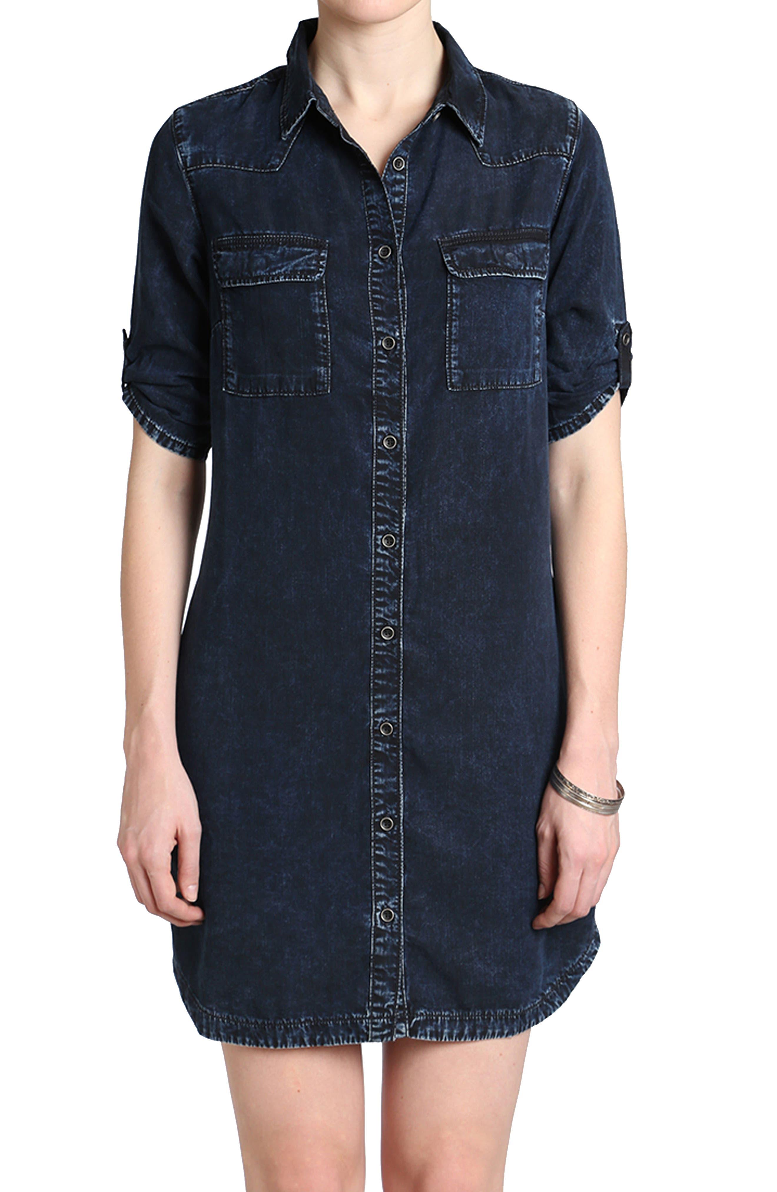 Mavi Jeans Bree Denim Shirtdress
