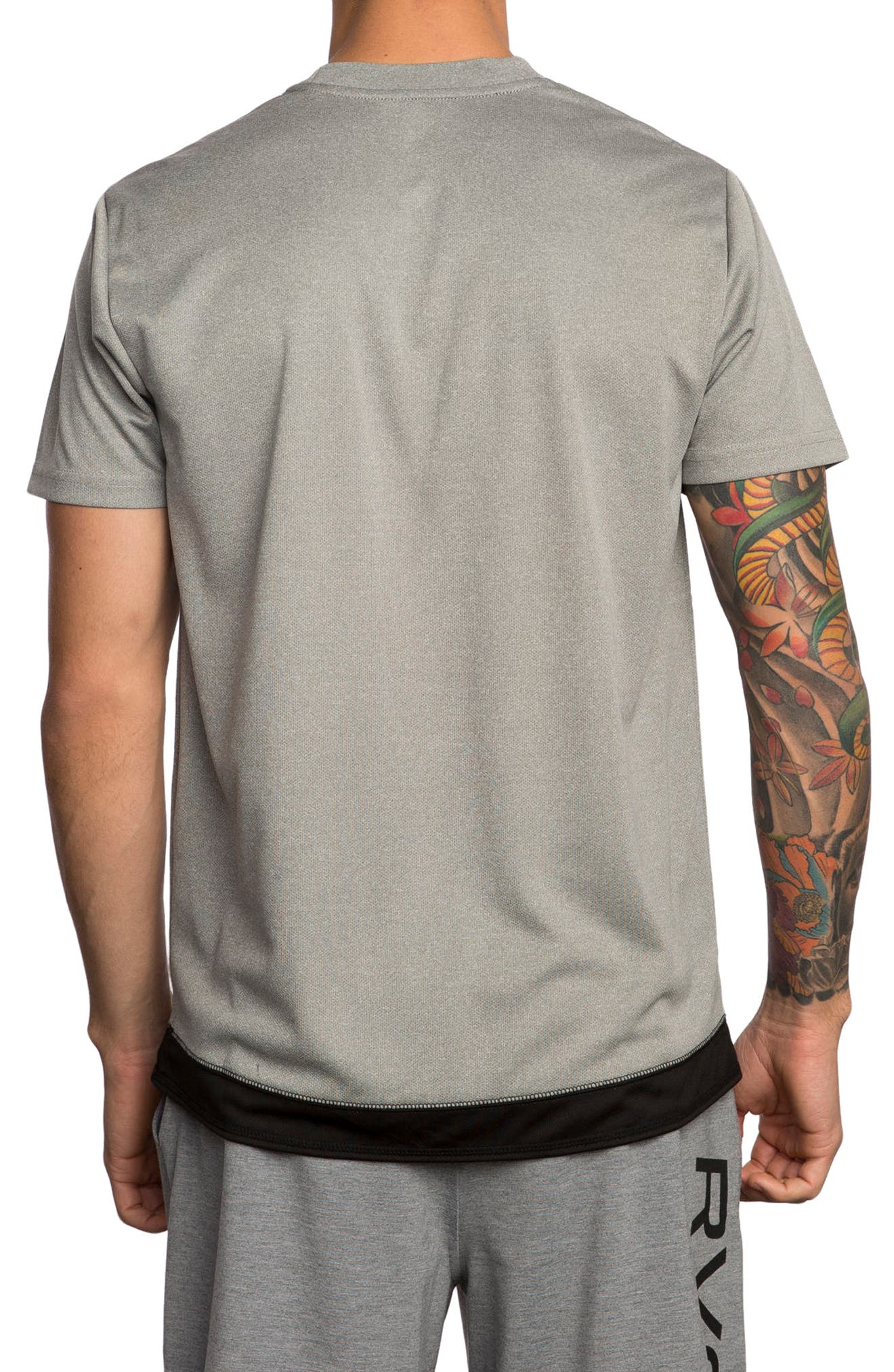 Alternate Image 2  - RVCA Runner Mesh T-Shirt