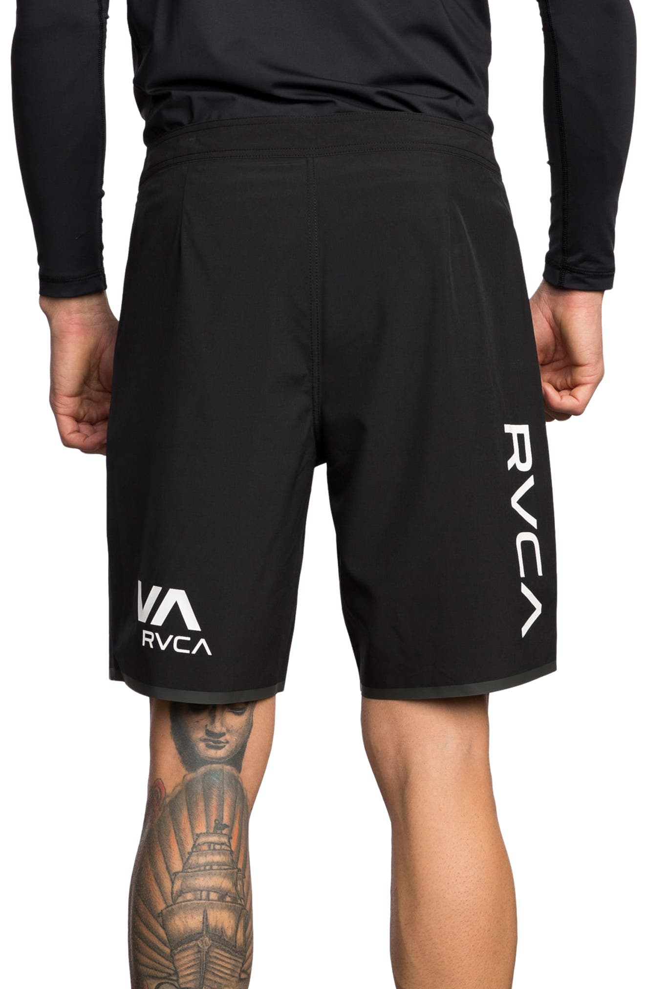 Alternate Image 2  - RVCA Staff III Dual Layer Performance Shorts