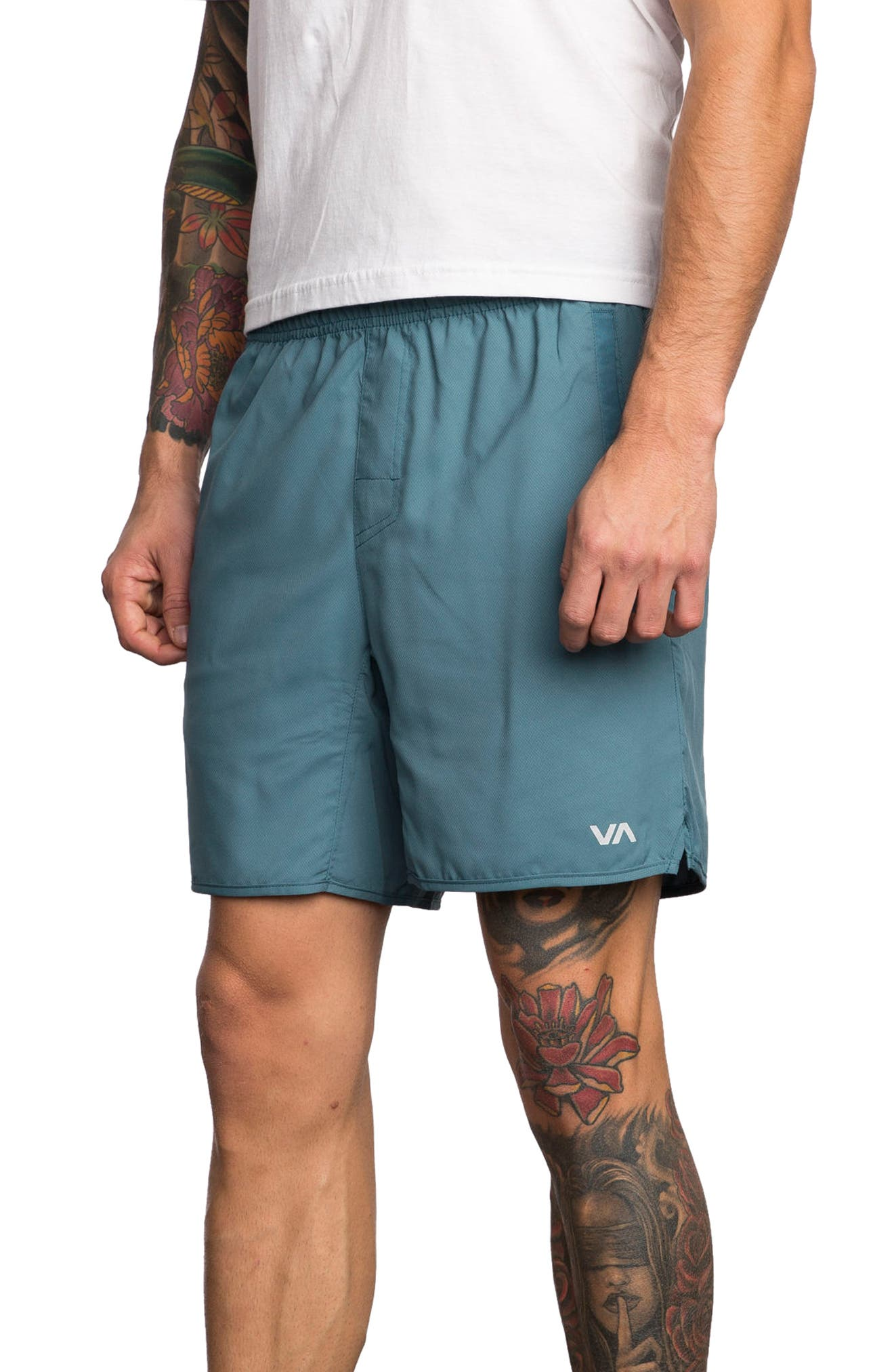 Alternate Image 3  - RVCA Yogger III Athletic Shorts