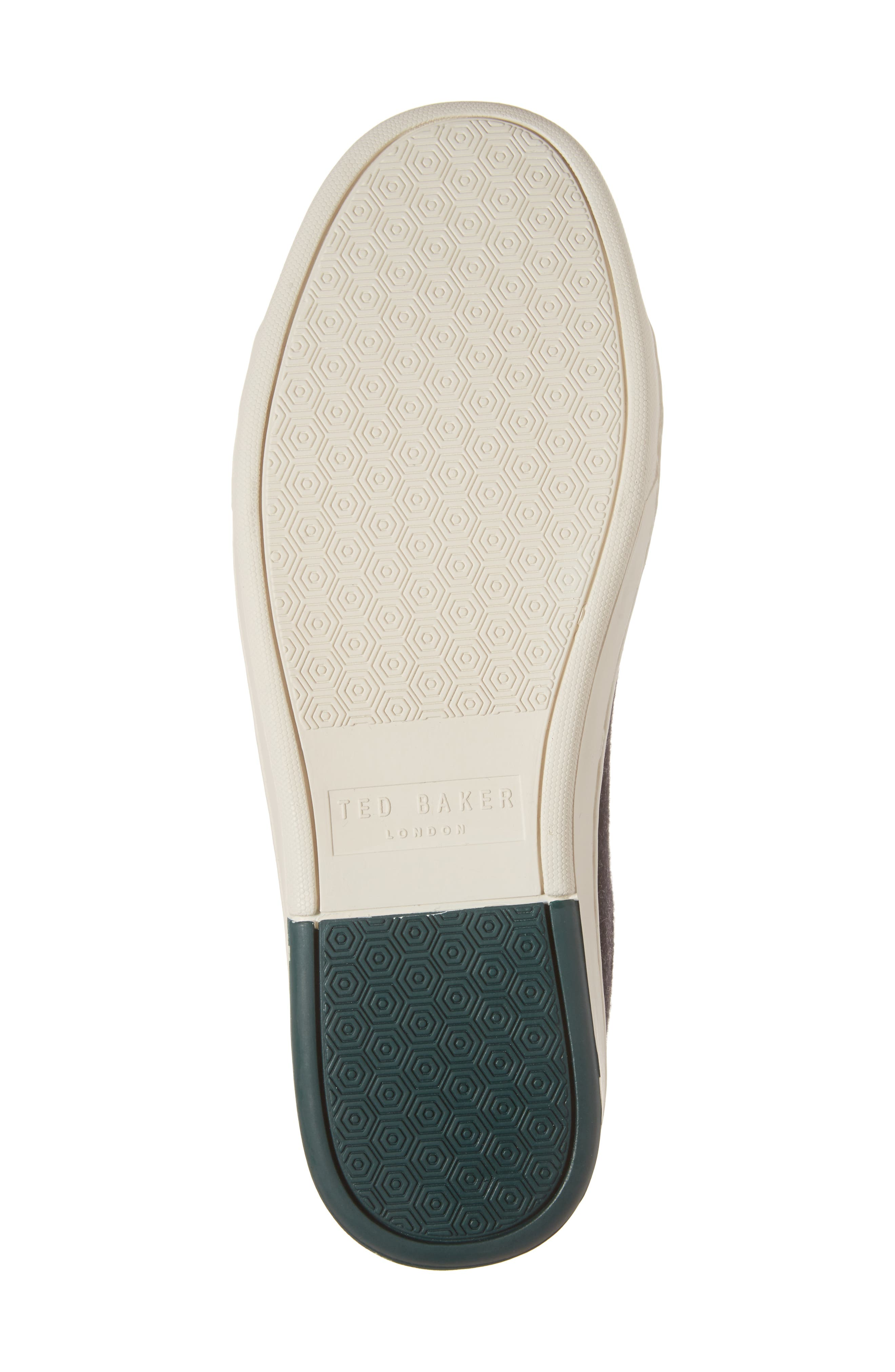 Minem 3 Sneaker,                             Alternate thumbnail 6, color,                             Black Wool