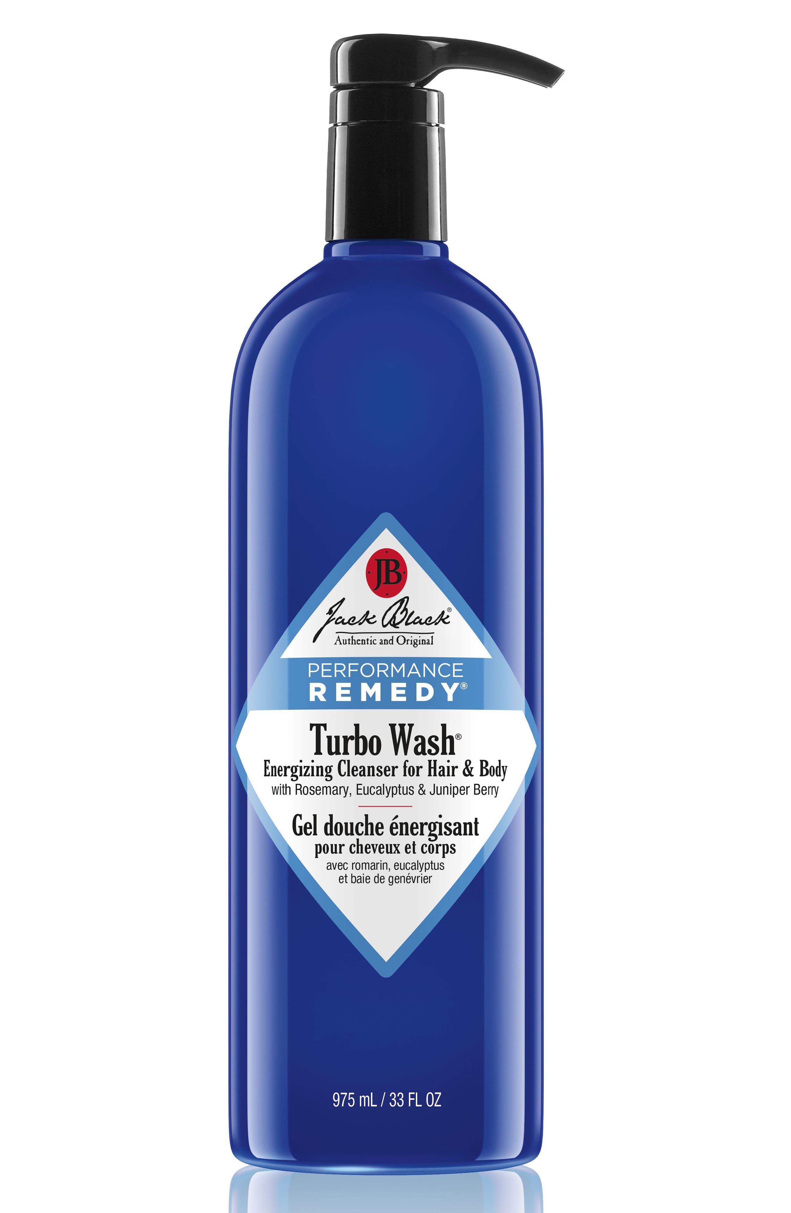 Main Image - Jack Black 'Turbo Wash®' Energizing Cleanser for Hair & Body (Jumbo Size) ($75 Value)