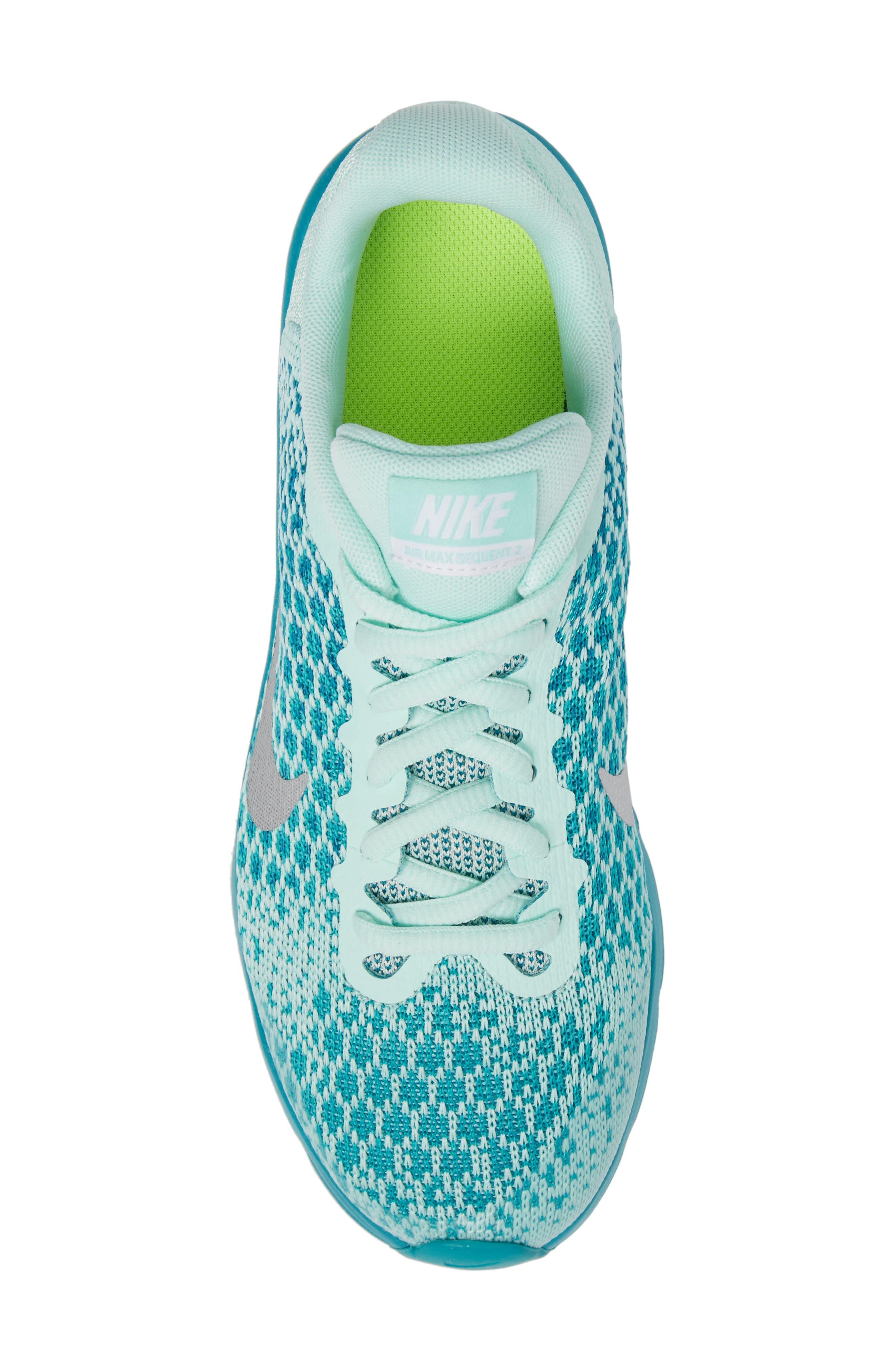 Alternate Image 5  - Nike Air Max Sequent 2 Sneaker (Big Kid)