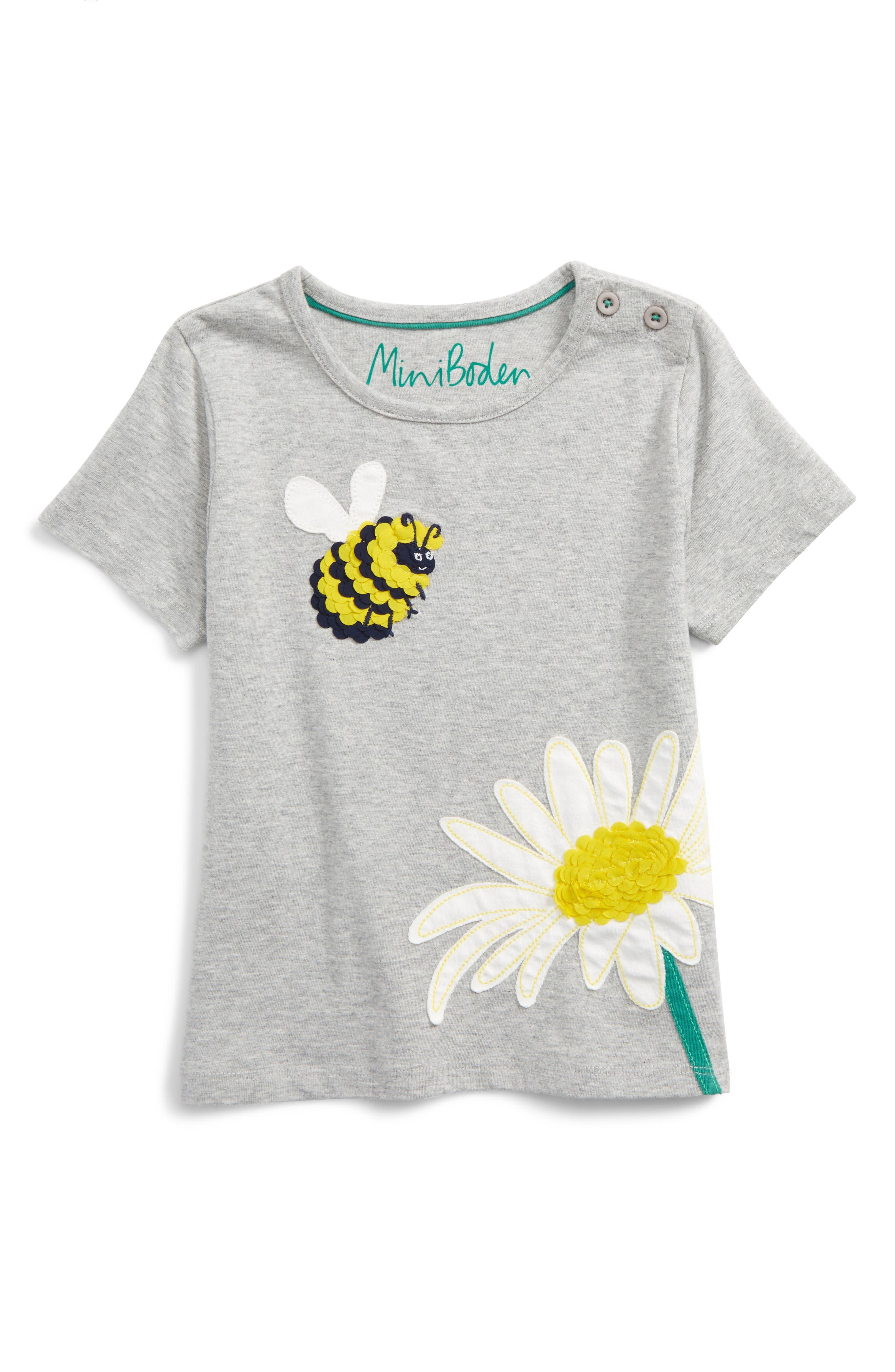Main Image - Mini Boden Great Outdoors Tee (Toddler Girls, Little Girls & Big Girls)