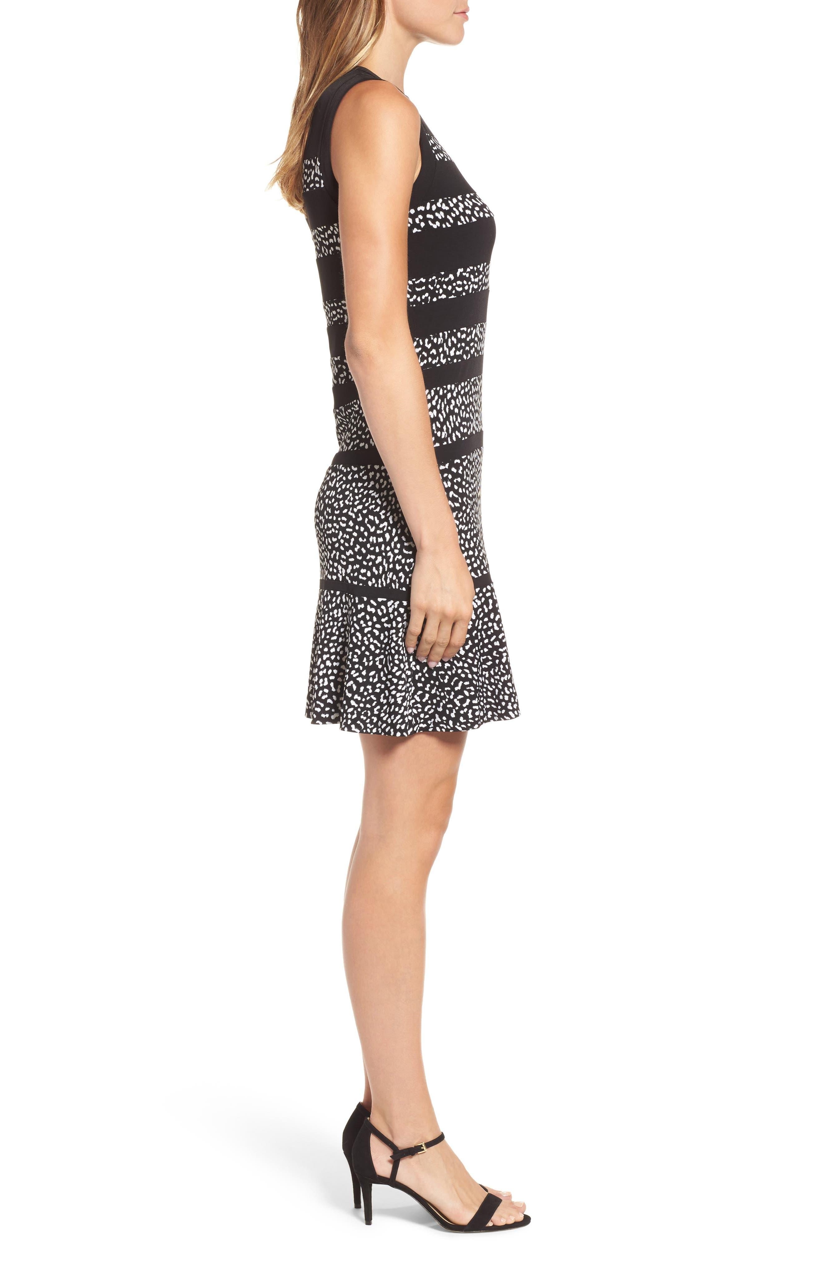 Alternate Image 3  - MICHAEL Michael Kors Cheetah Panel Dress