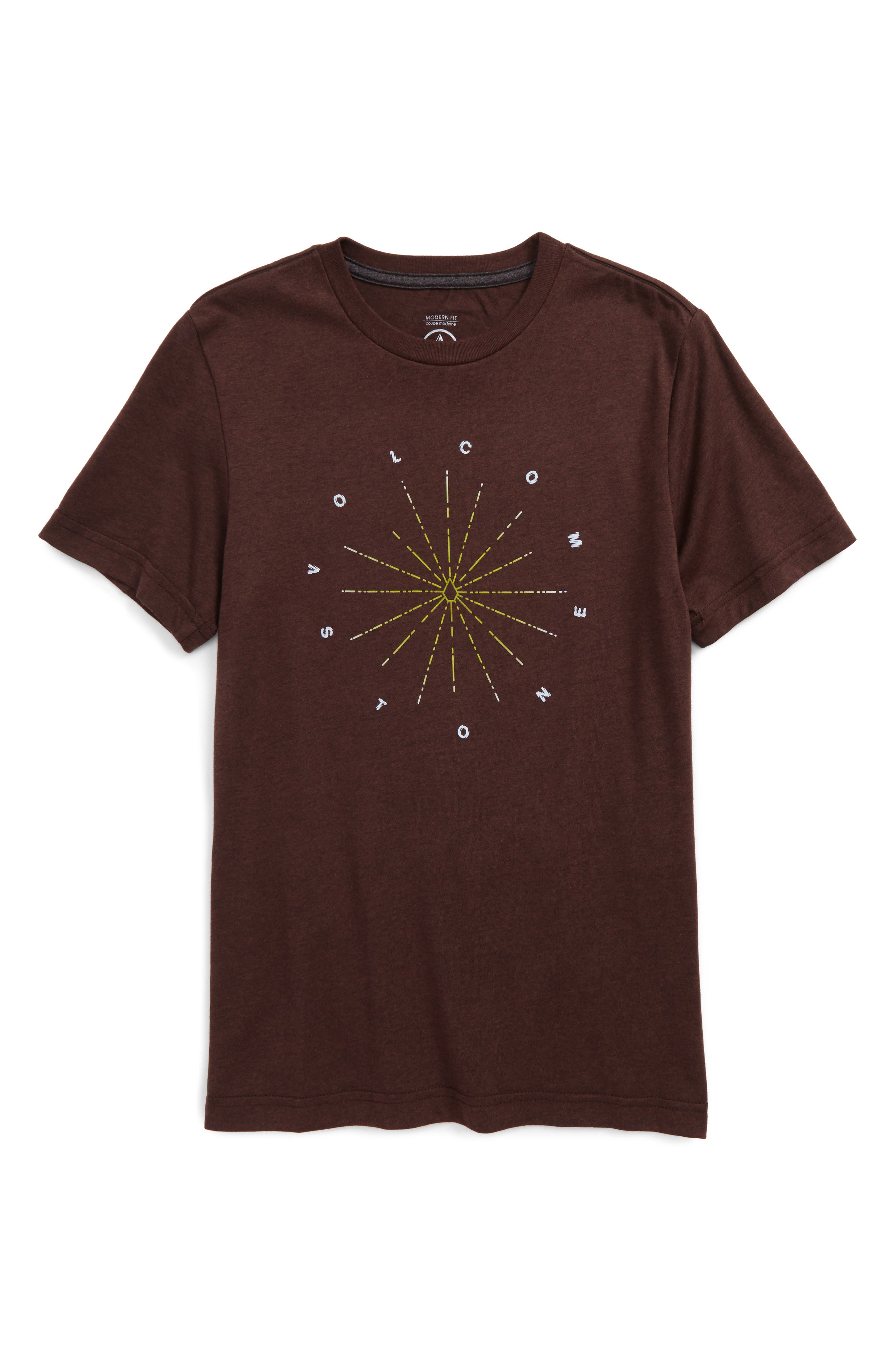 Volcom Burst Graphic T-Shirt (Big Boys)
