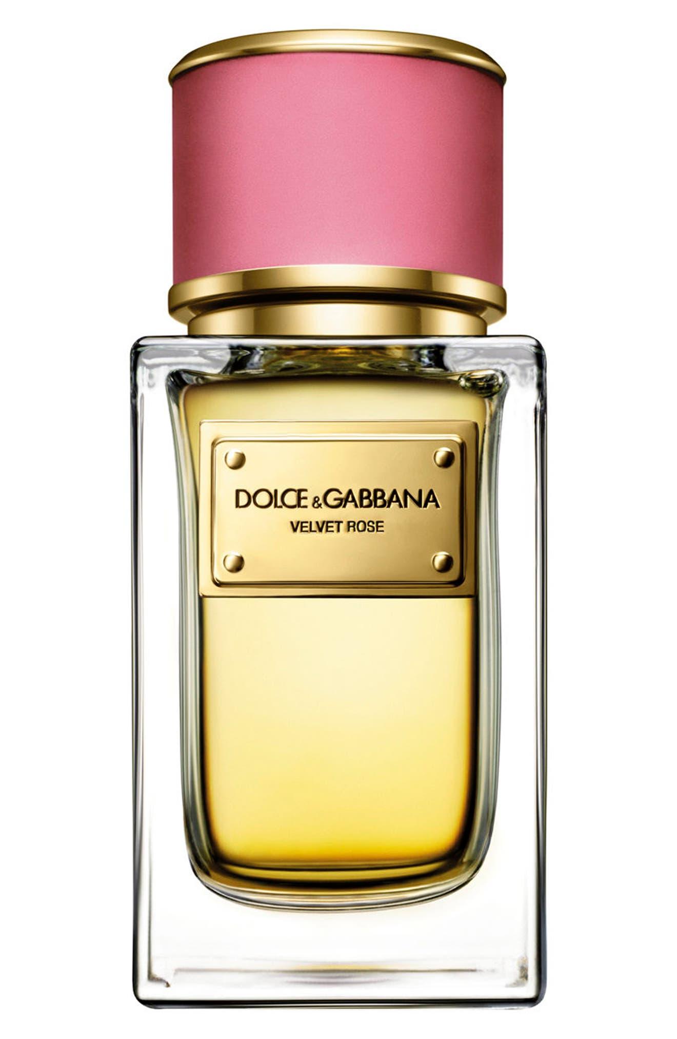 Main Image - Dolce&GabbanaBeauty 'Velvet Rose' Eau de Parfum