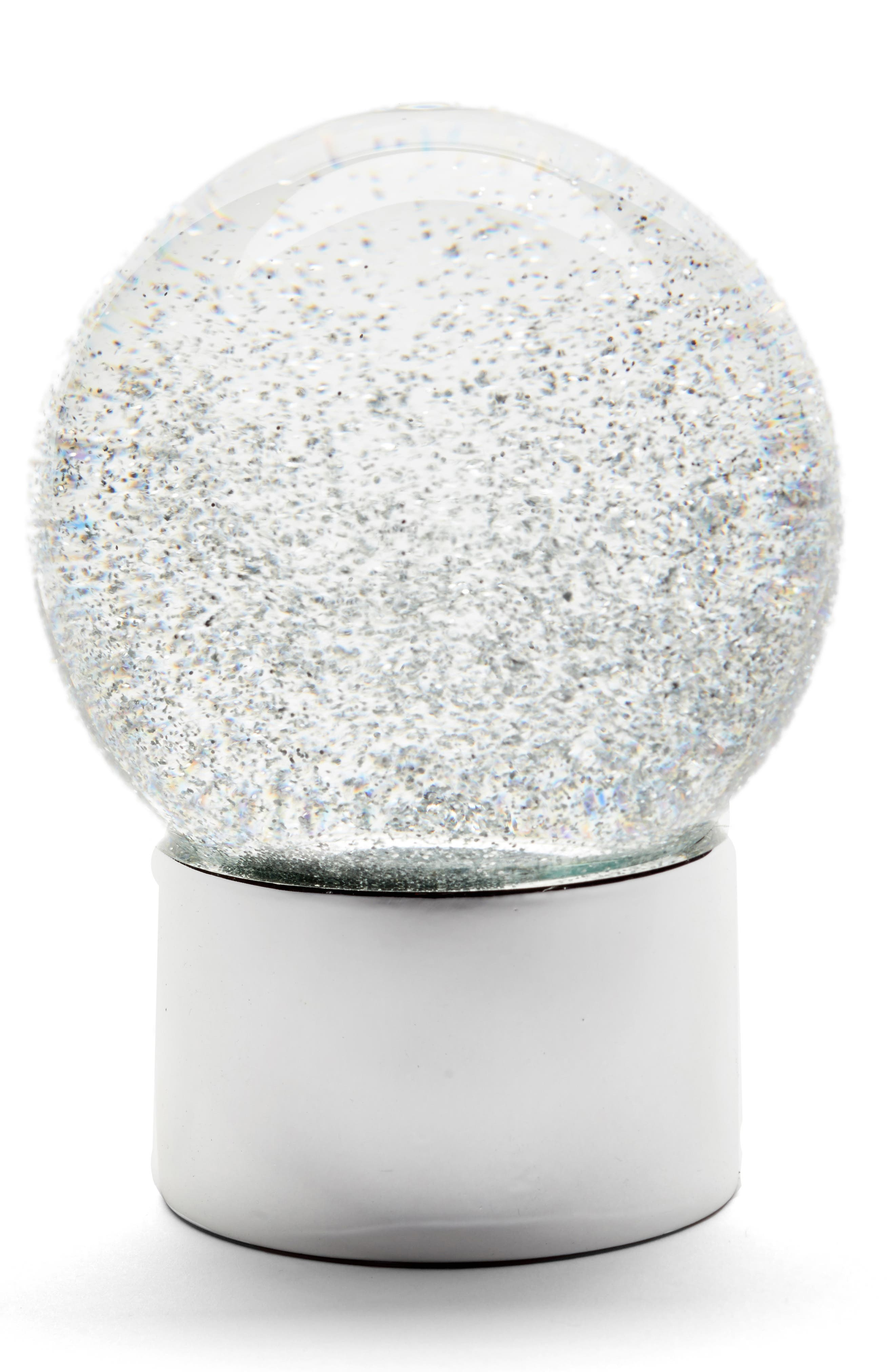 Nordstrom at Home Medium Glitter Snow Globe
