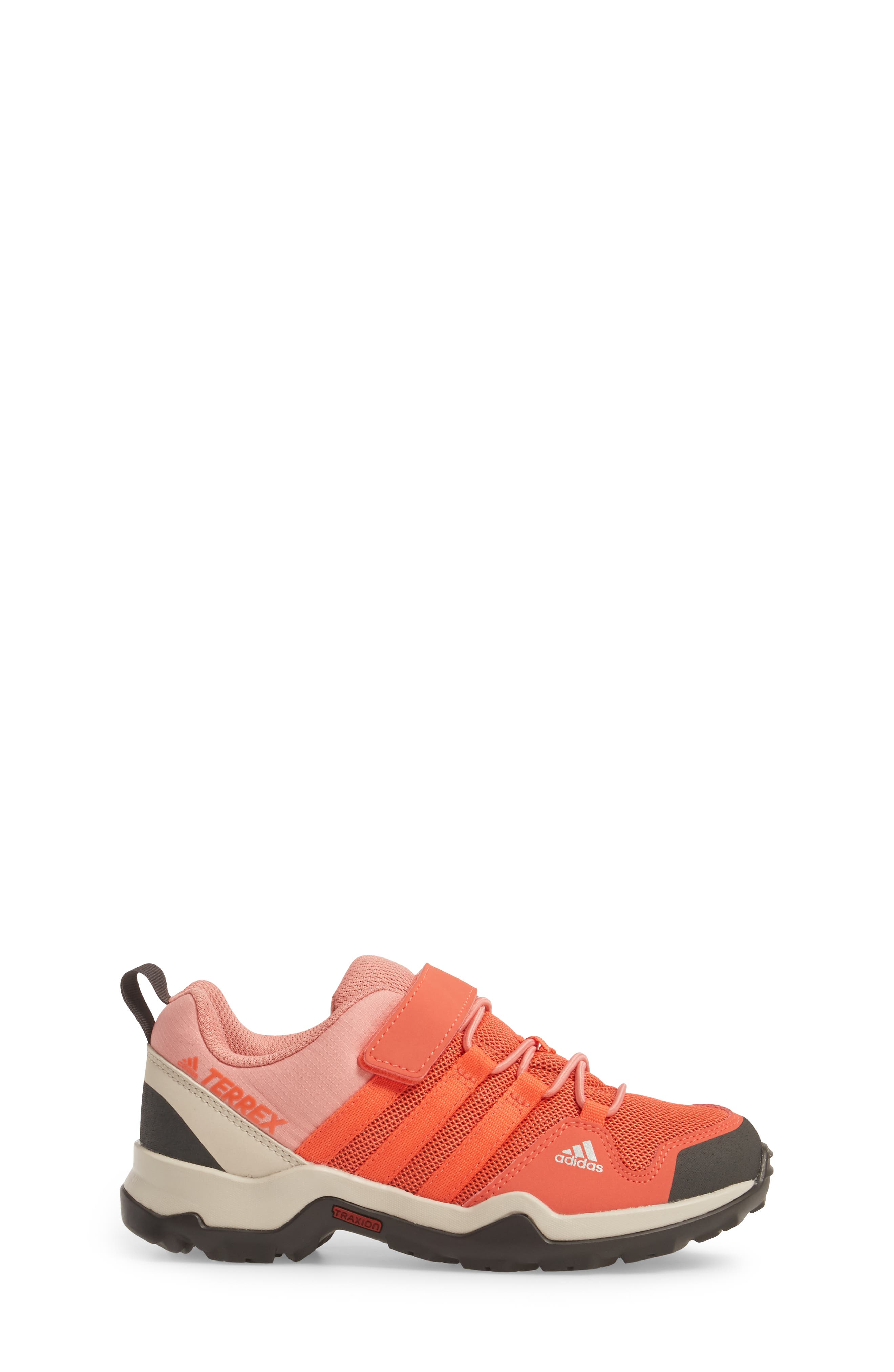 Terrex AX2R Sneaker,                             Alternate thumbnail 3, color,                             Easy Coral/ Tactile Rose