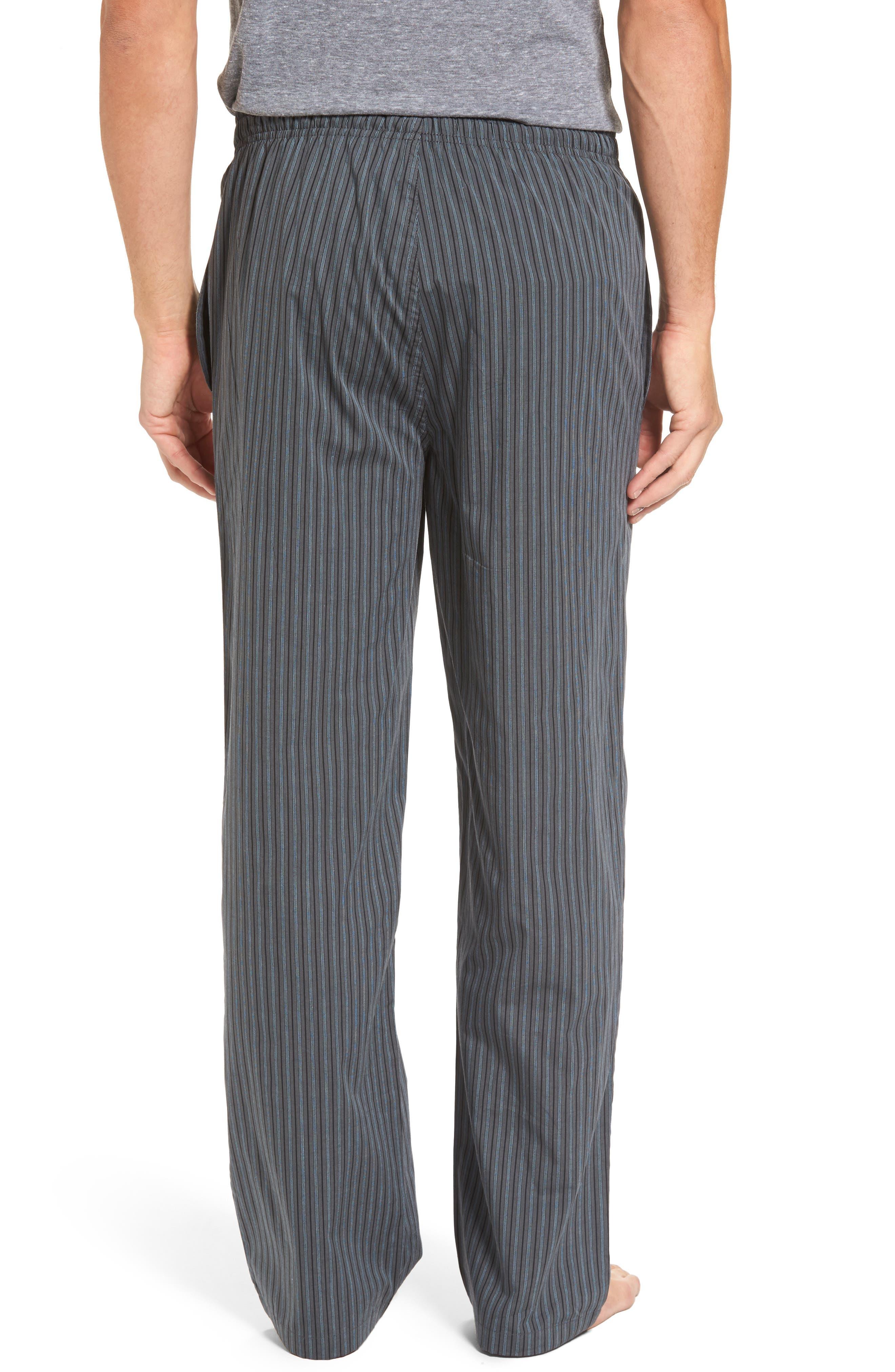 Alternate Image 2  - Nordstrom Men's Shop Poplin Lounge Pants