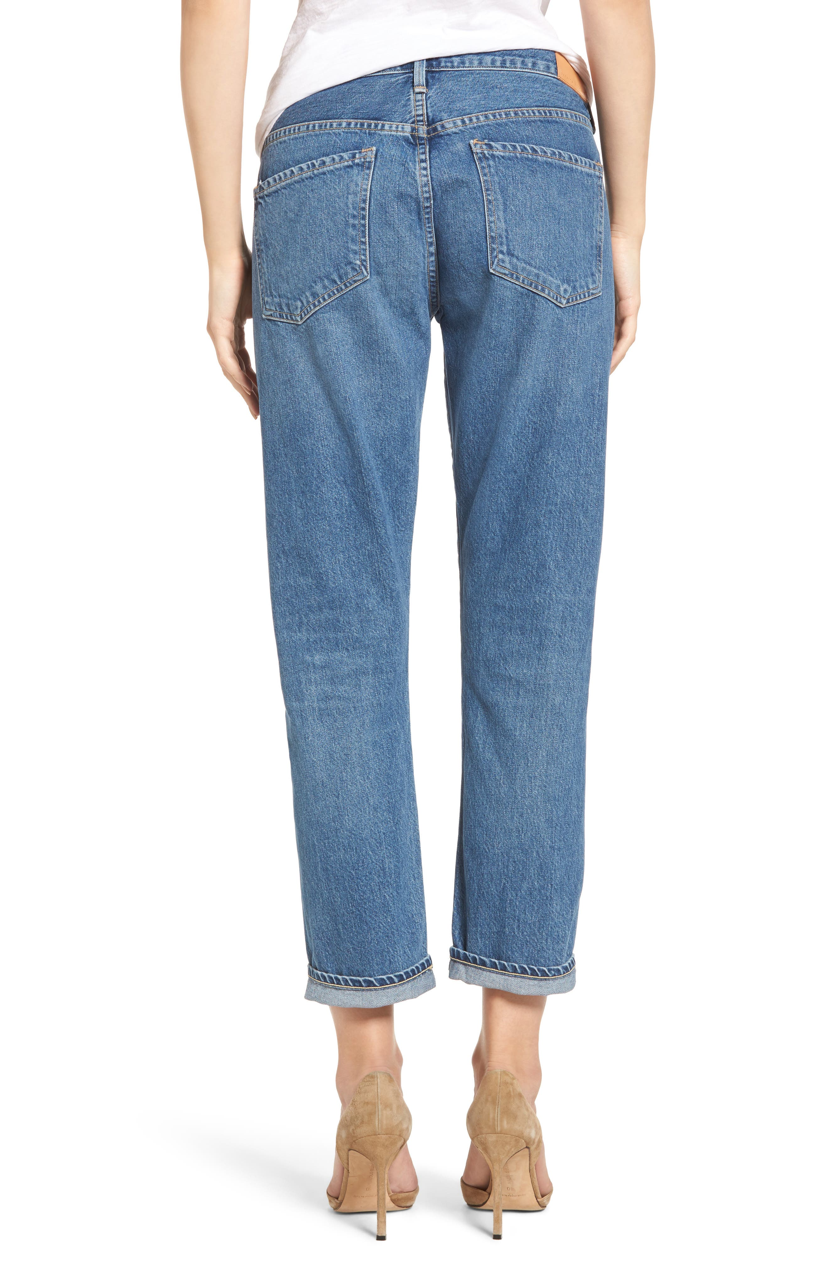 Emerson Slim Boyfriend Jeans,                             Alternate thumbnail 2, color,                             Admire