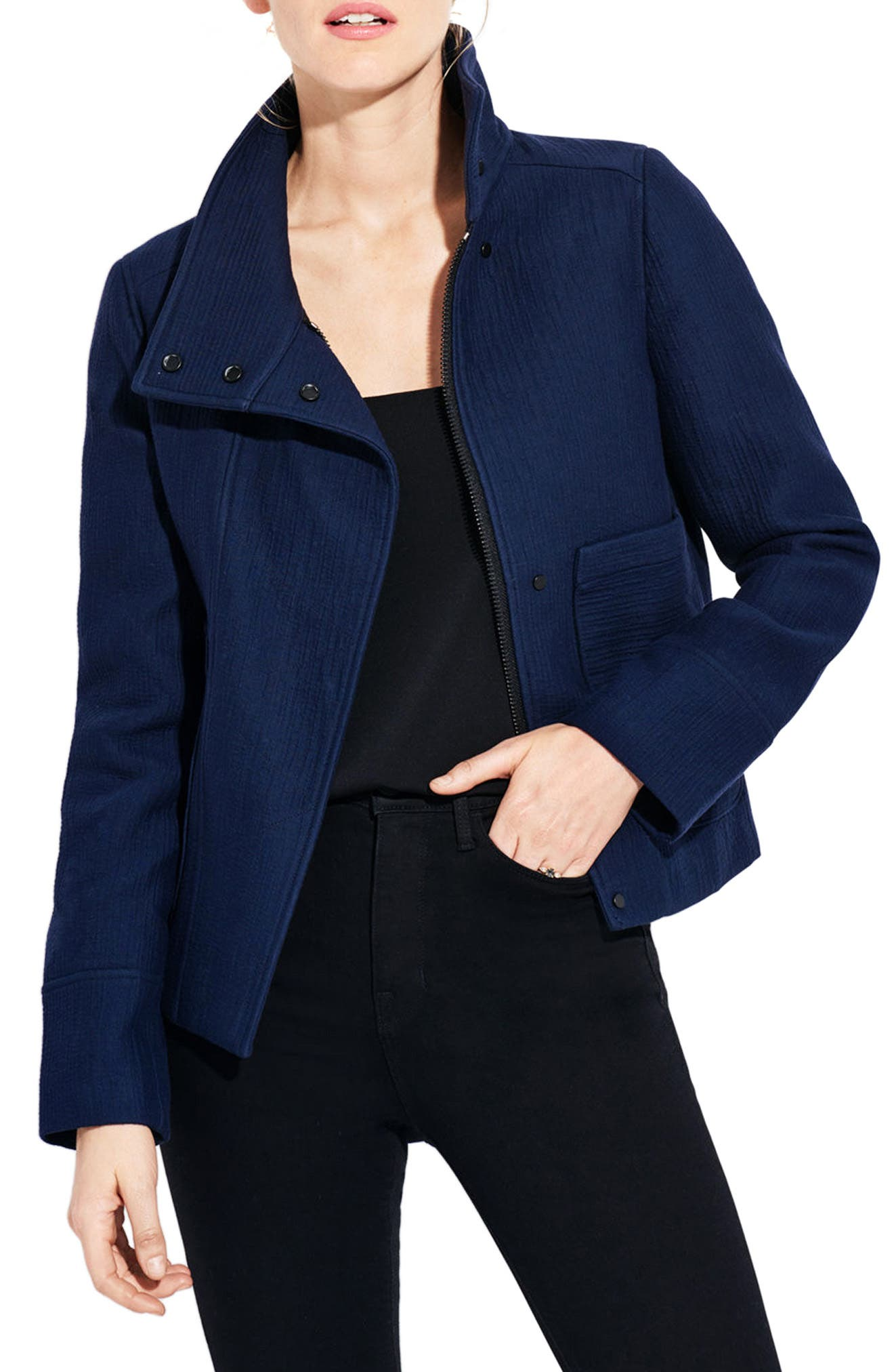 The Neptune Jacket,                         Main,                         color, Navy