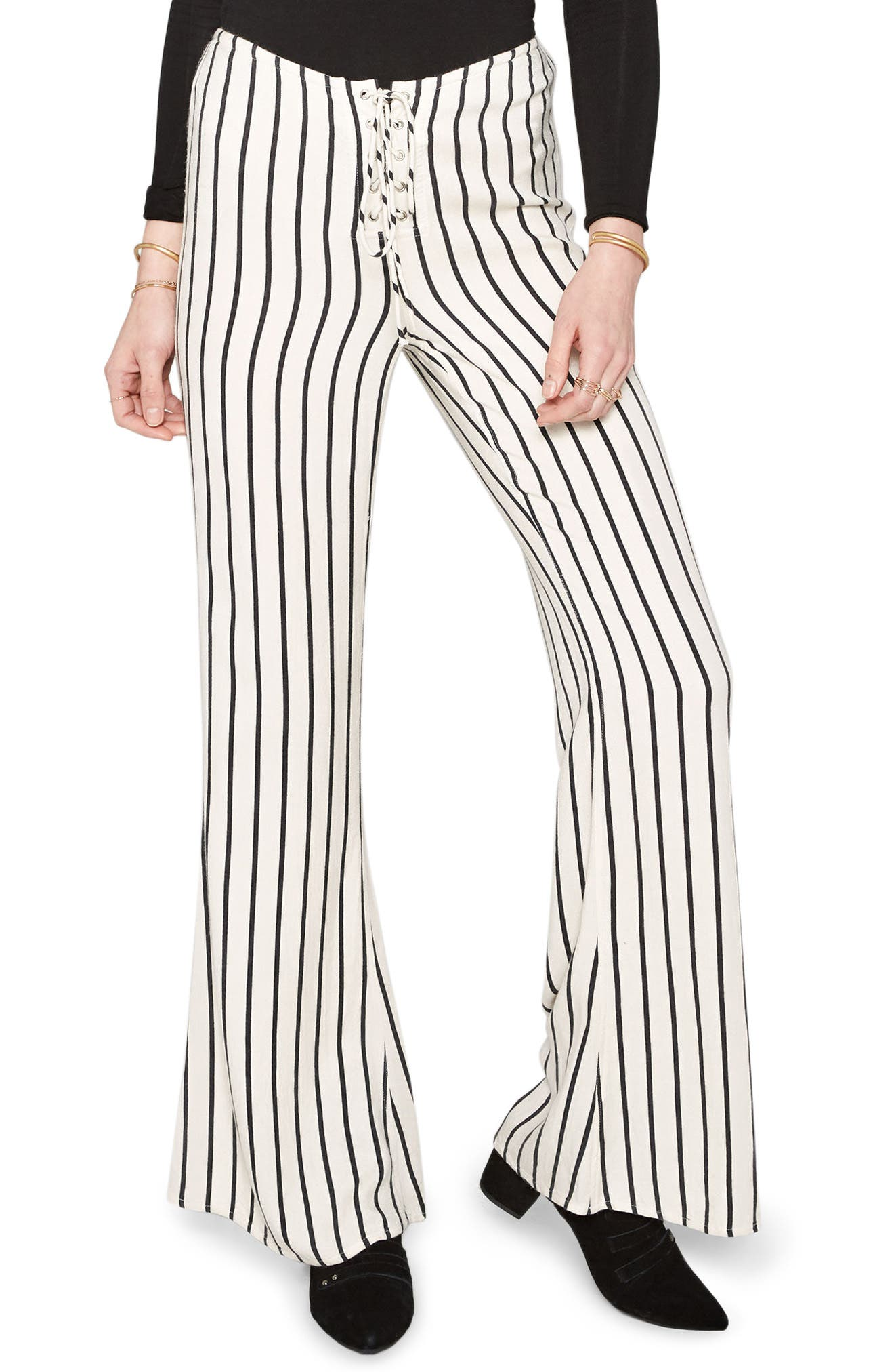 Amuse Society Strummer Lace Up Pants