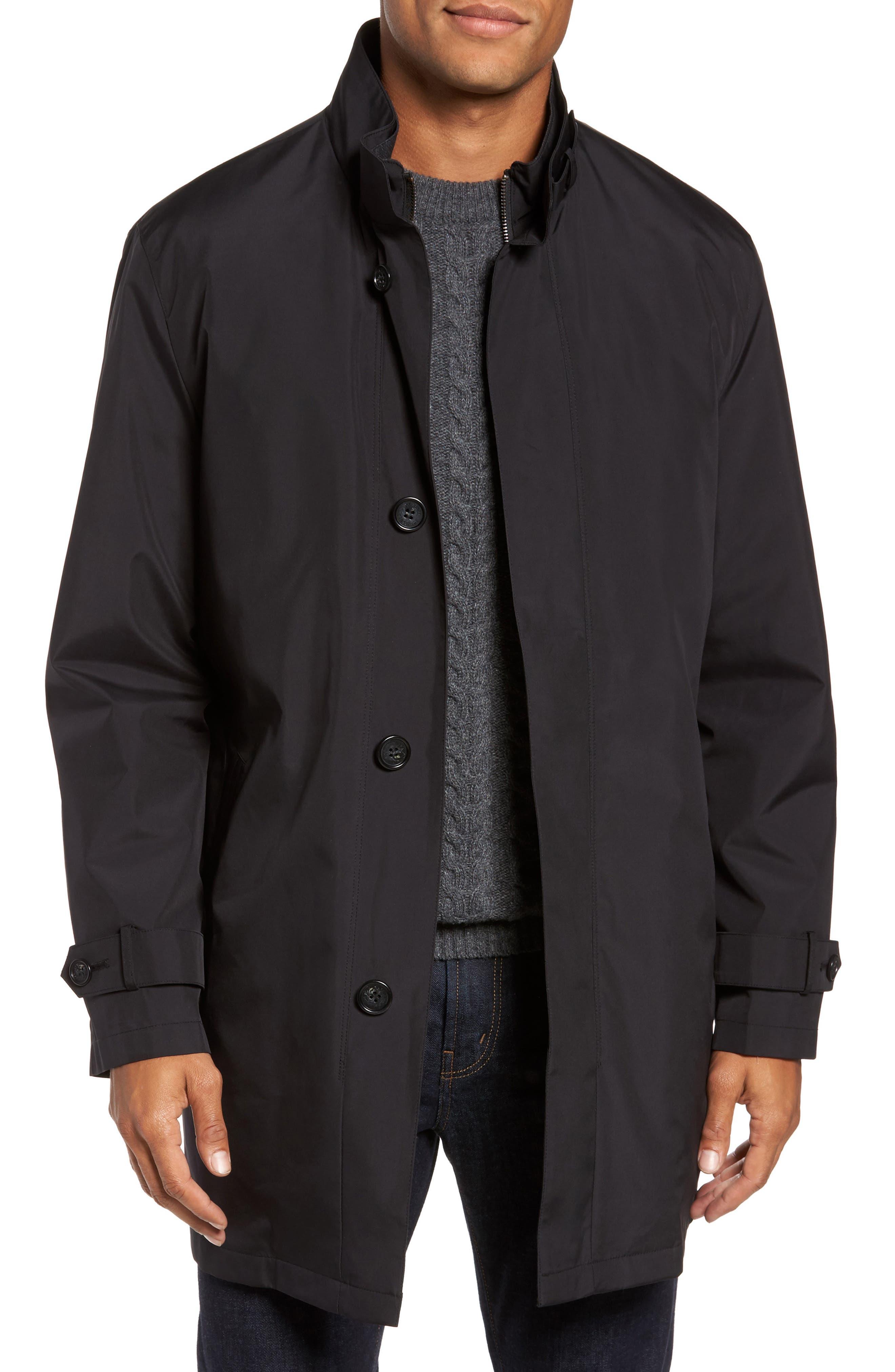'Hamlet' Raincoat,                         Main,                         color, Black