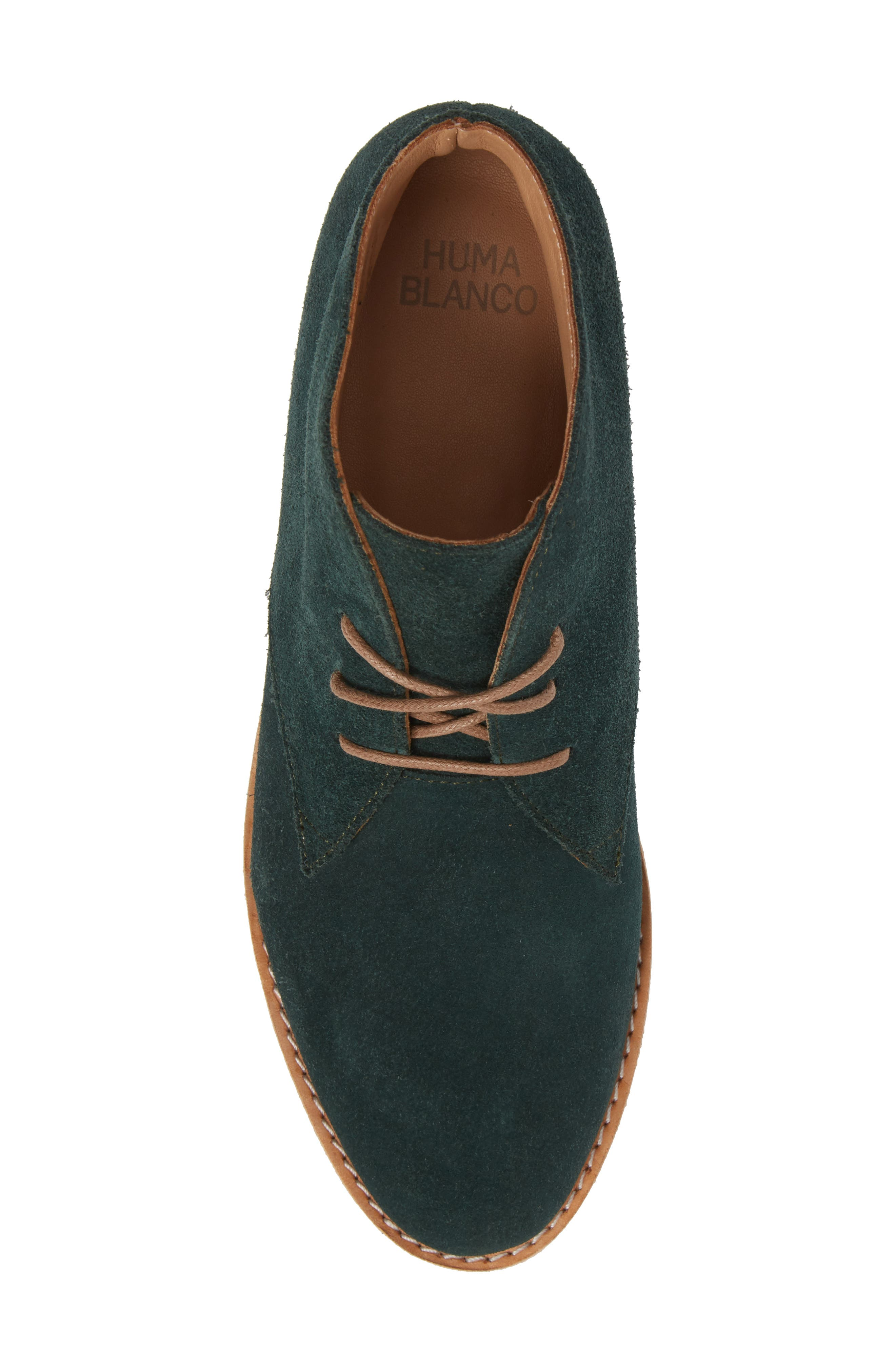 Manuela Chukka Boot,                             Alternate thumbnail 5, color,                             Forest Green Suede