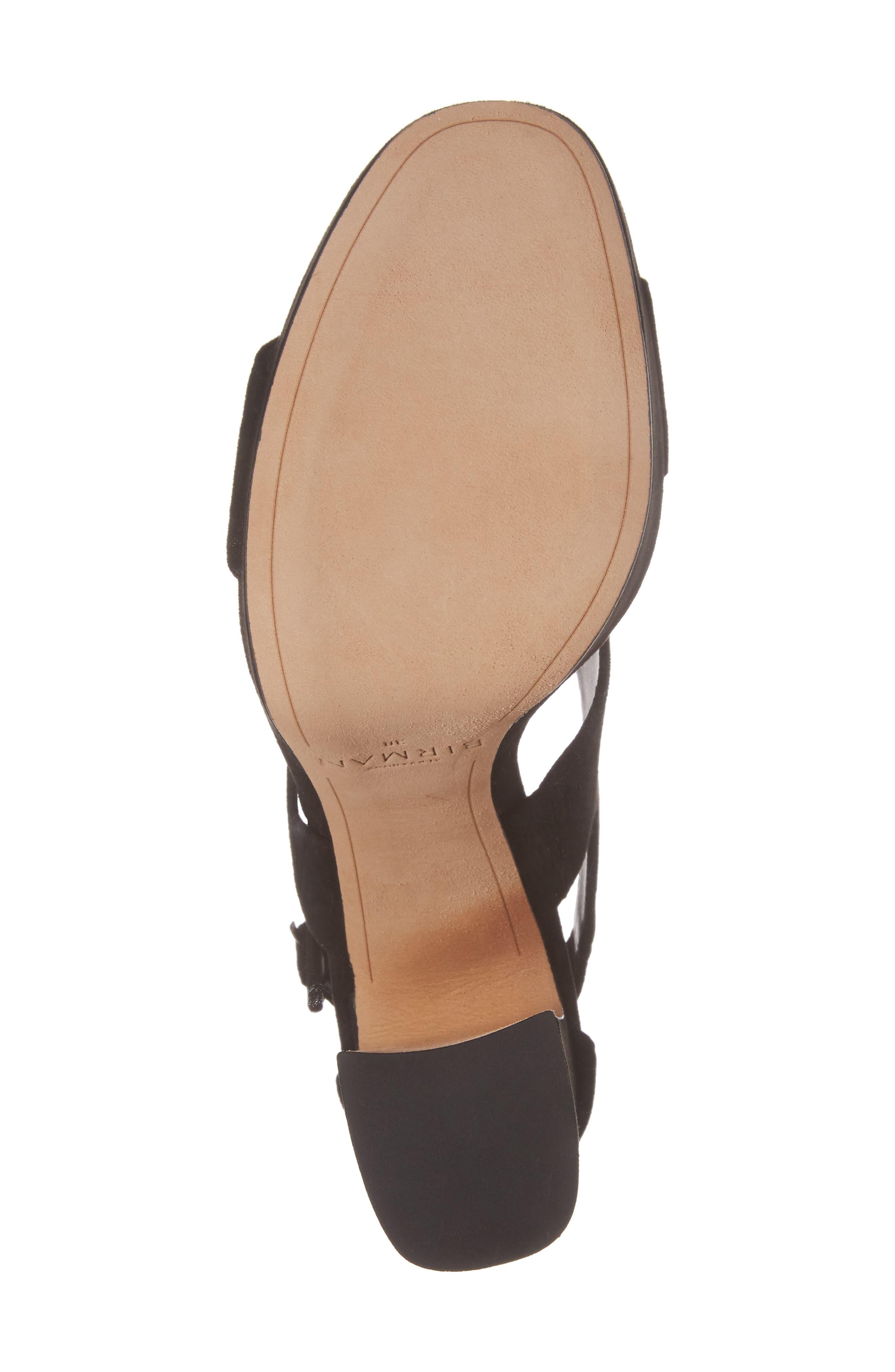 Elouise Platform Sandal,                             Alternate thumbnail 6, color,                             Black
