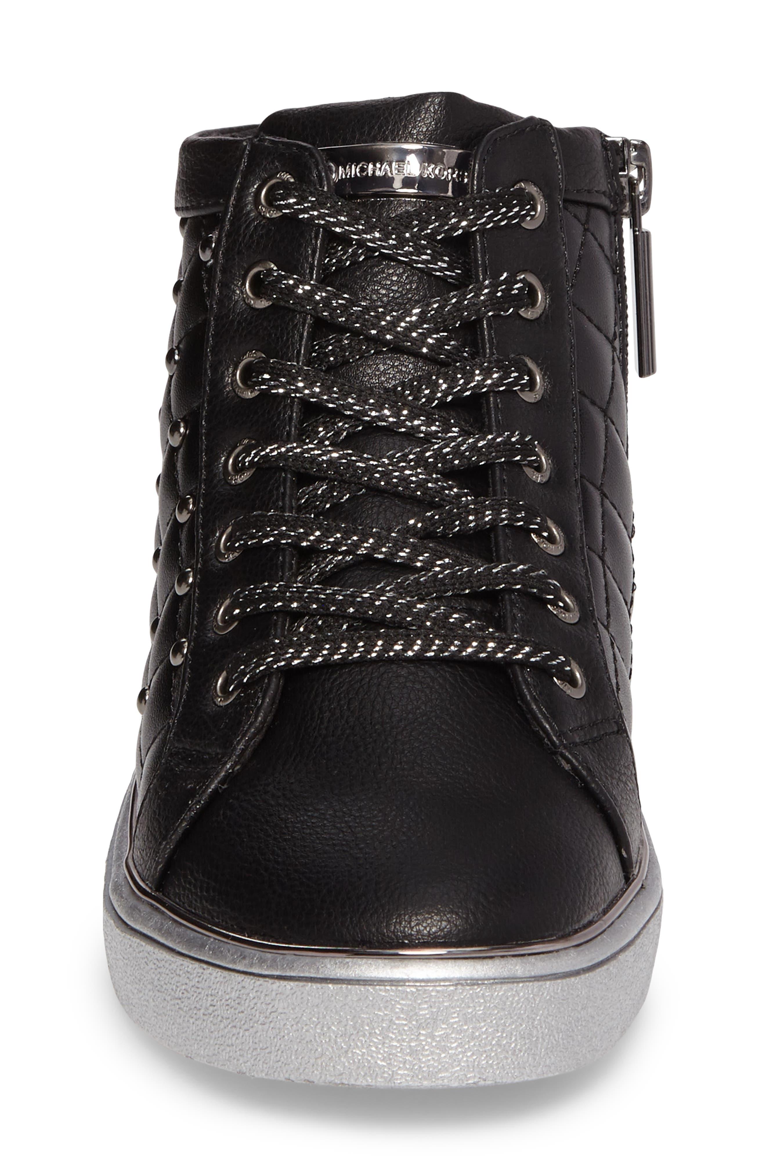 Ivy Rome Sneaker,                             Alternate thumbnail 4, color,                             Black