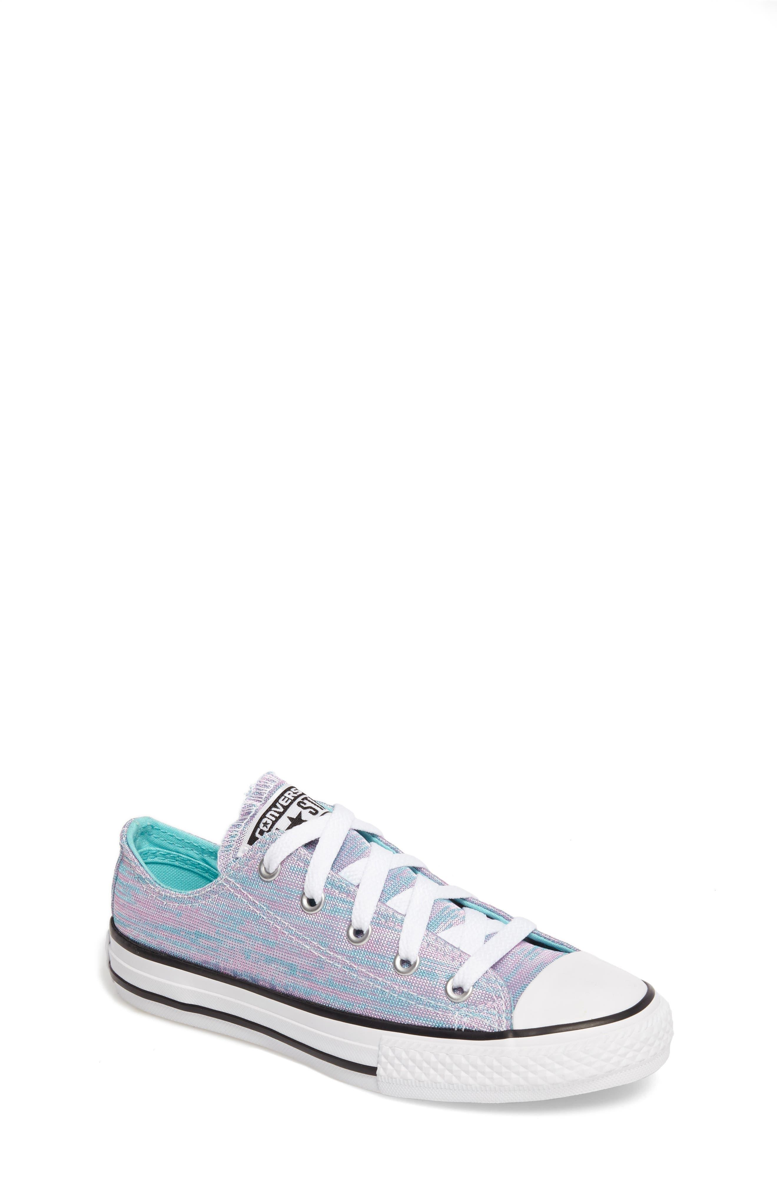 Converse All Star® Jersey Knit Low-Top Sneaker (Toddler & Little Kid)