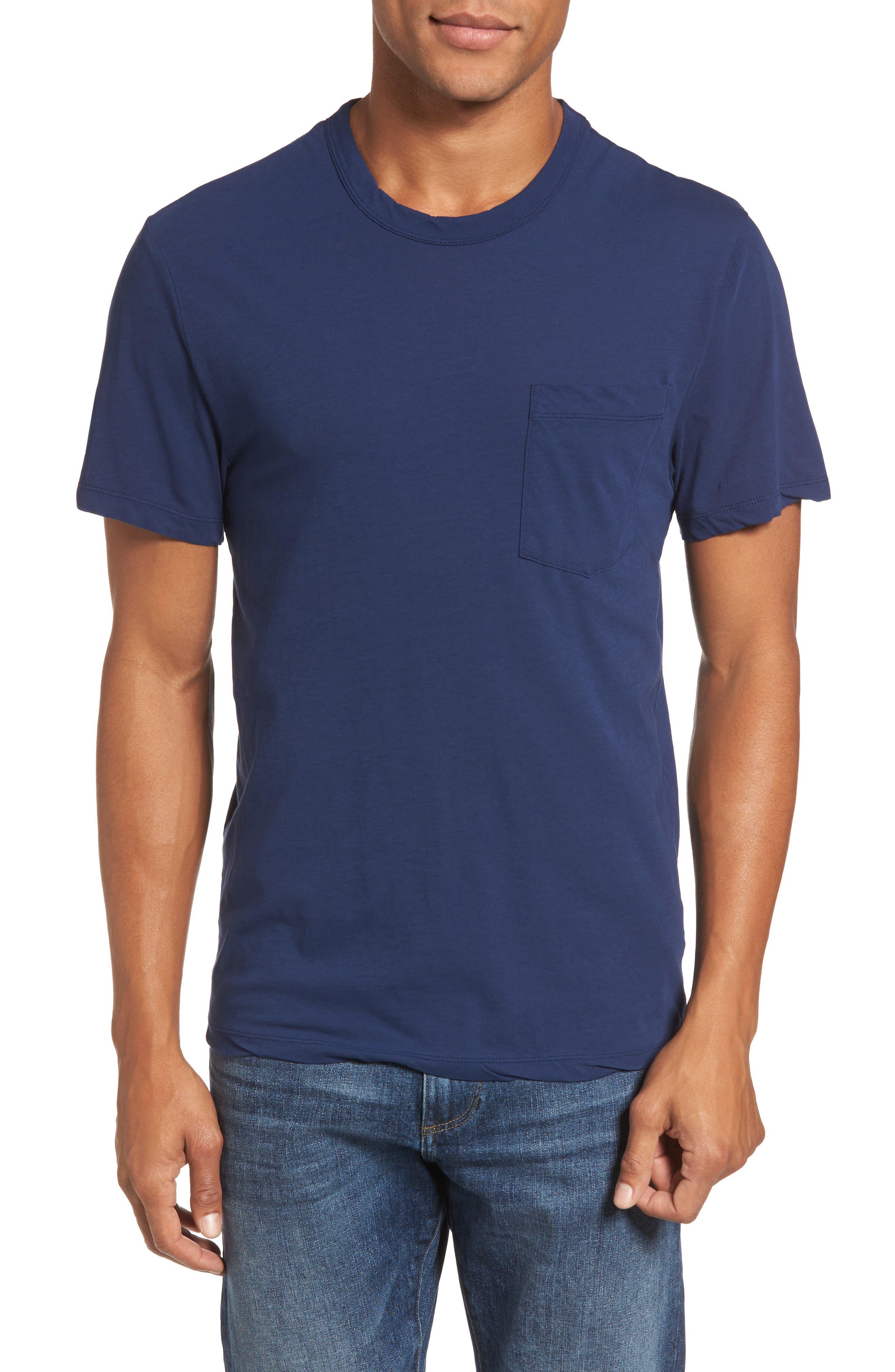 James Perse High Twist Jersey Crewneck T-Shirt