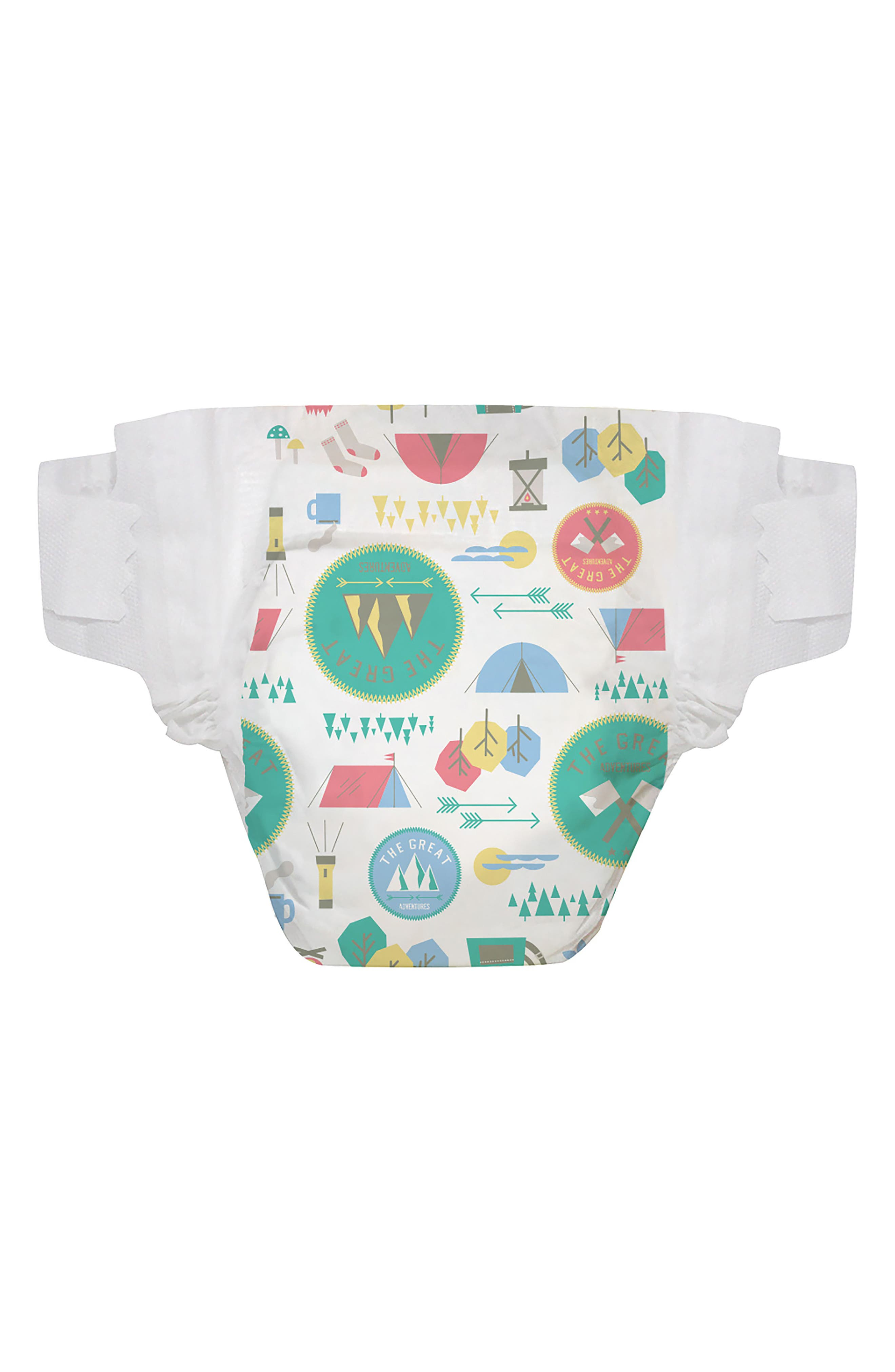 x THE GREAT. The Great Adventure Diapers,                             Main thumbnail 1, color,                             The Great Adventure