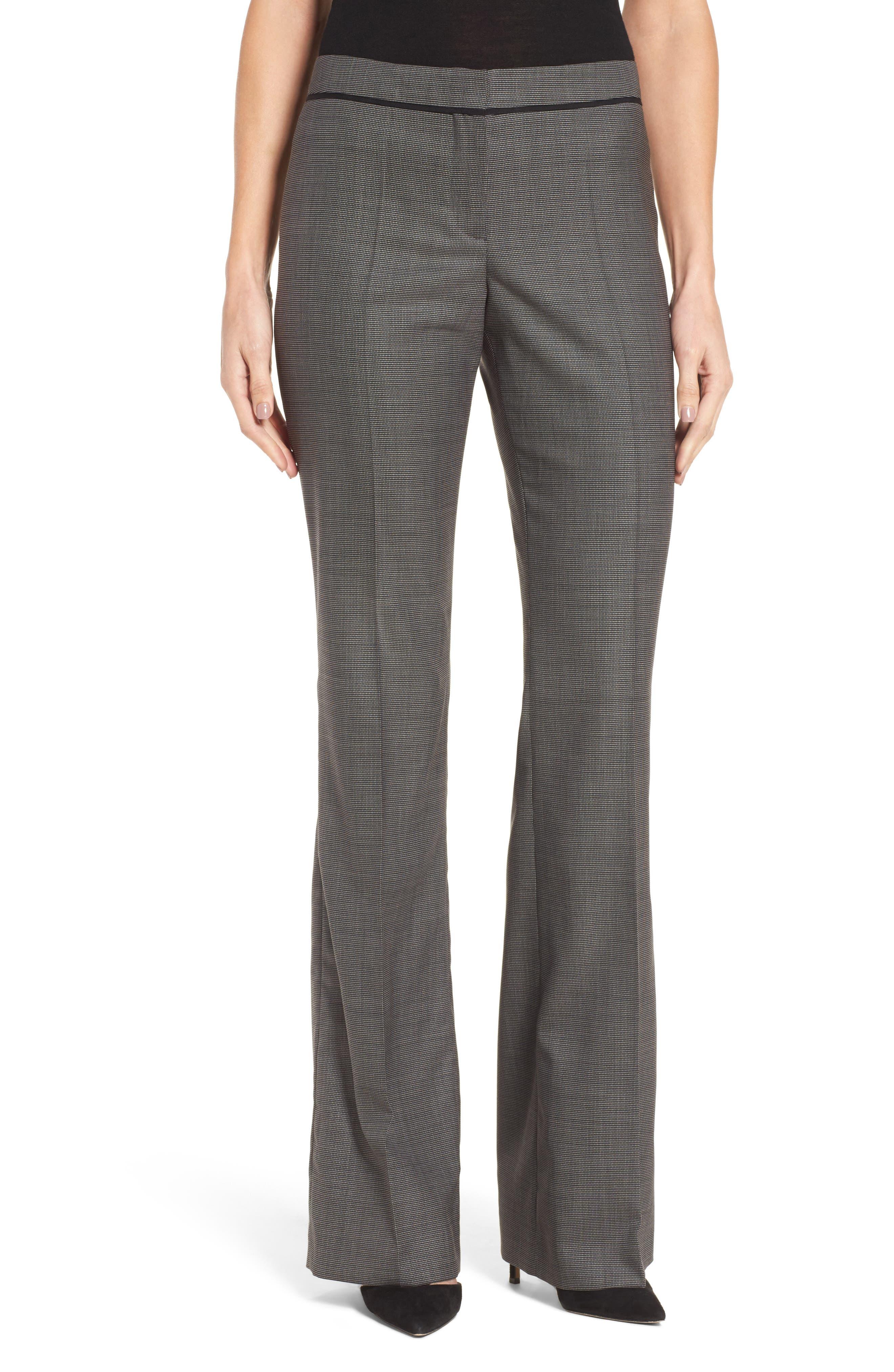BOSS Tulea Stretch Wool Suit Trousers