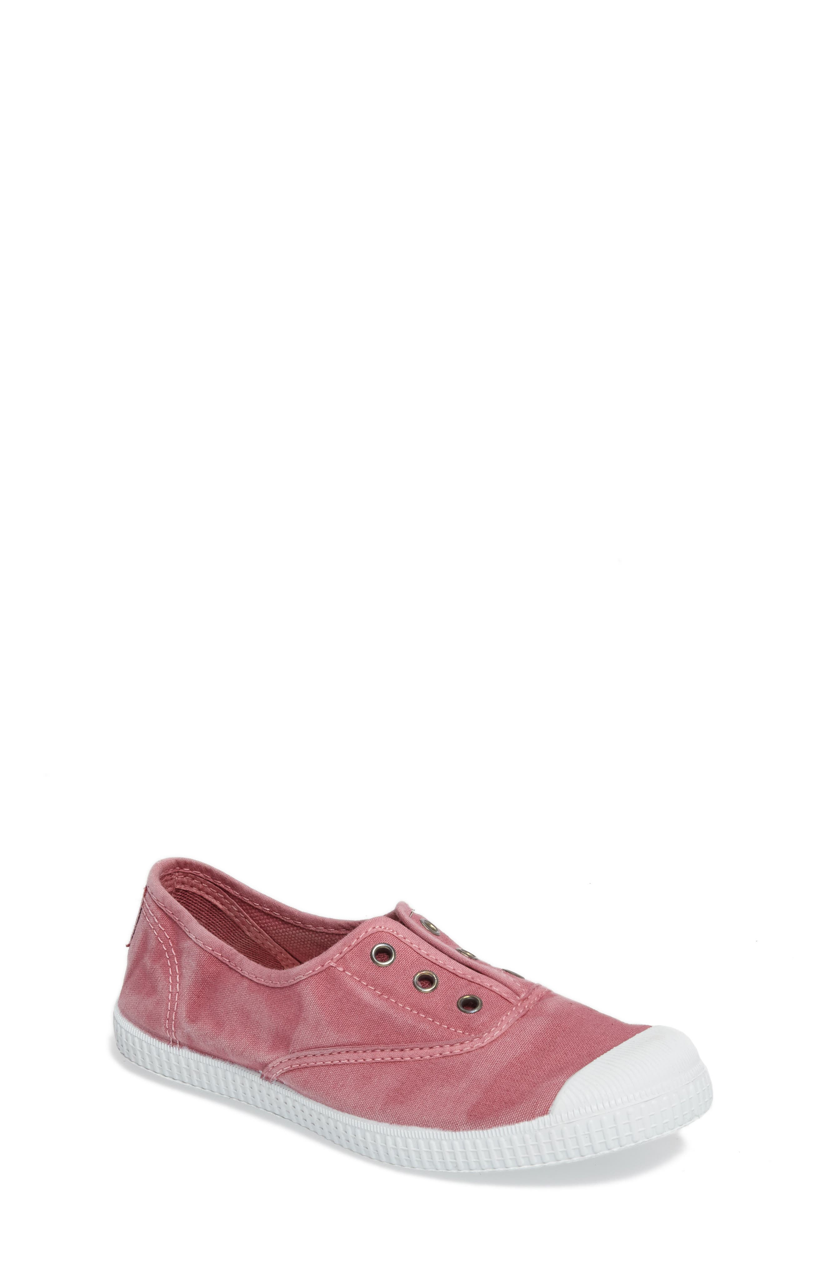 Laceless Slip-On Sneaker,                             Main thumbnail 1, color,                             Pink