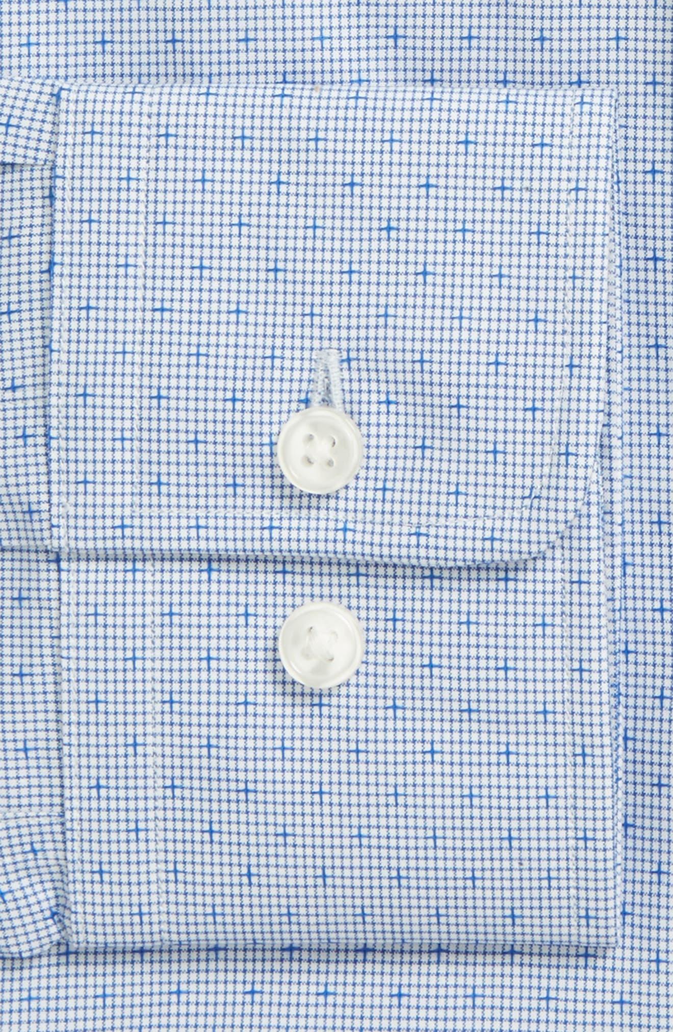 Alternate Image 2  - BOSS Mark Sharp Fit Dobby Dress Shirt